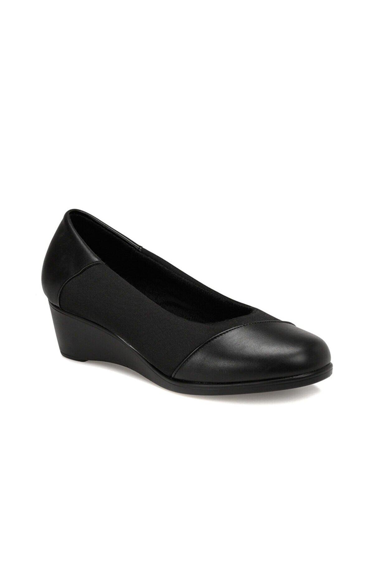Polaris 161389.Z Siyah Kadın Comfort Ayakkabı 100548490