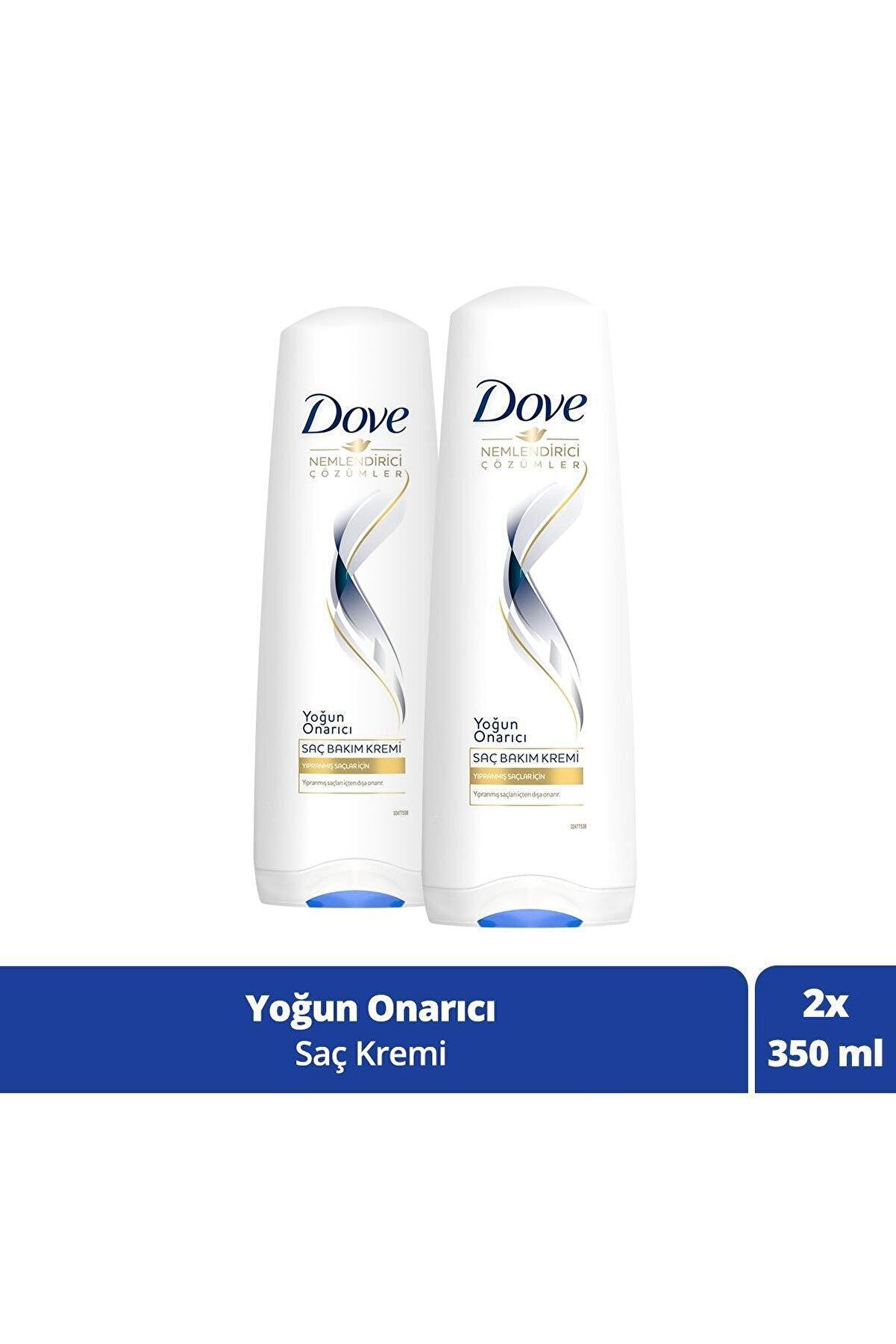 Dove Yıpranmış Saçlar Için Yoğun Onarıcı Saç Bakım Kremi 350 ml X 2