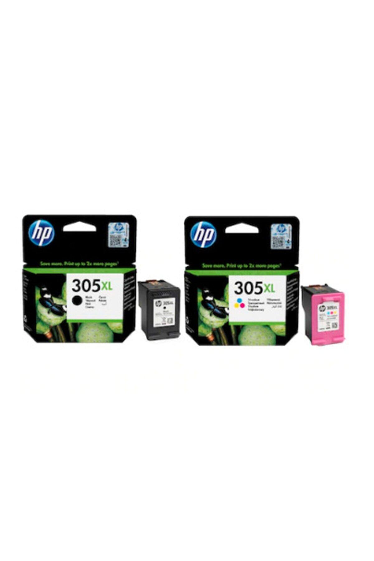 HP 305xl Orjinal Siyah Ve Renkli 2li Paket - 3ym63ae/3ym62ae