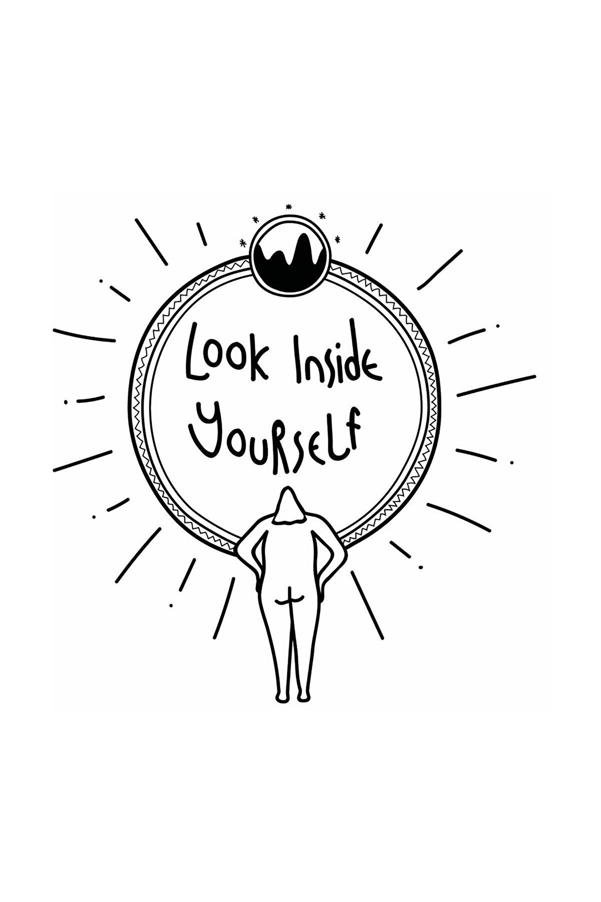 Nagihan Aydınlık Look Inside Yourself, 20x25, Dijital