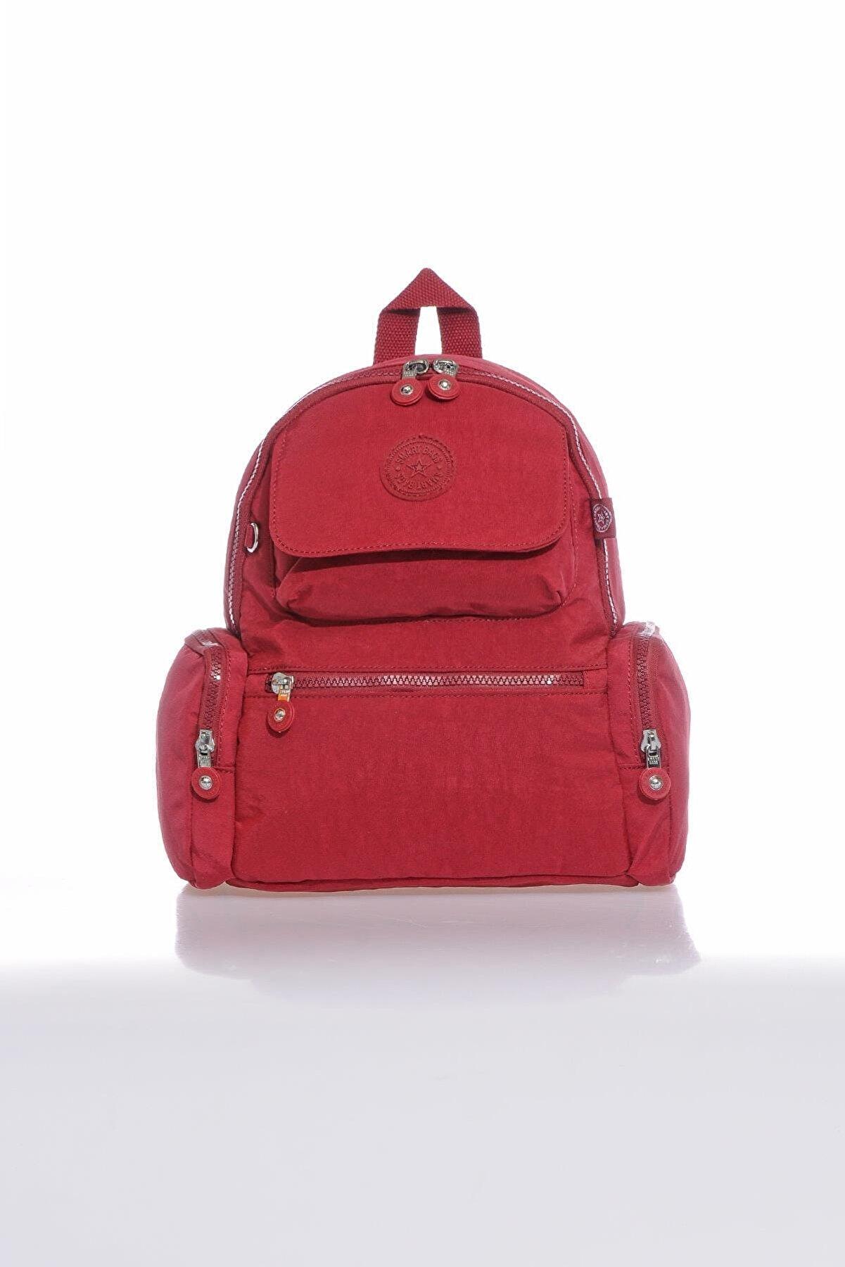 Smart Bags Smb3077-0021 Bordo Kadın Sırt Çantası