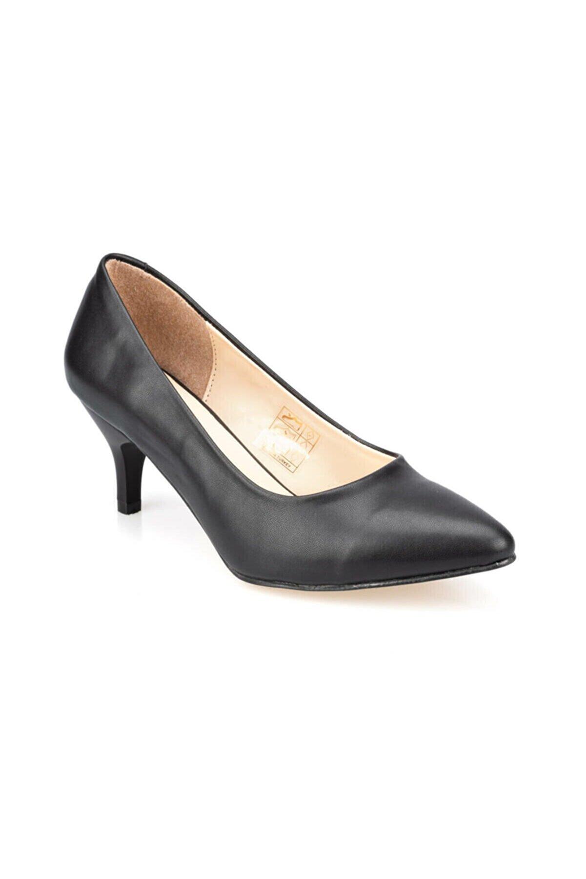 Polaris 91.307282.z Siyah Kadın Gova Ayakkabı 100351546