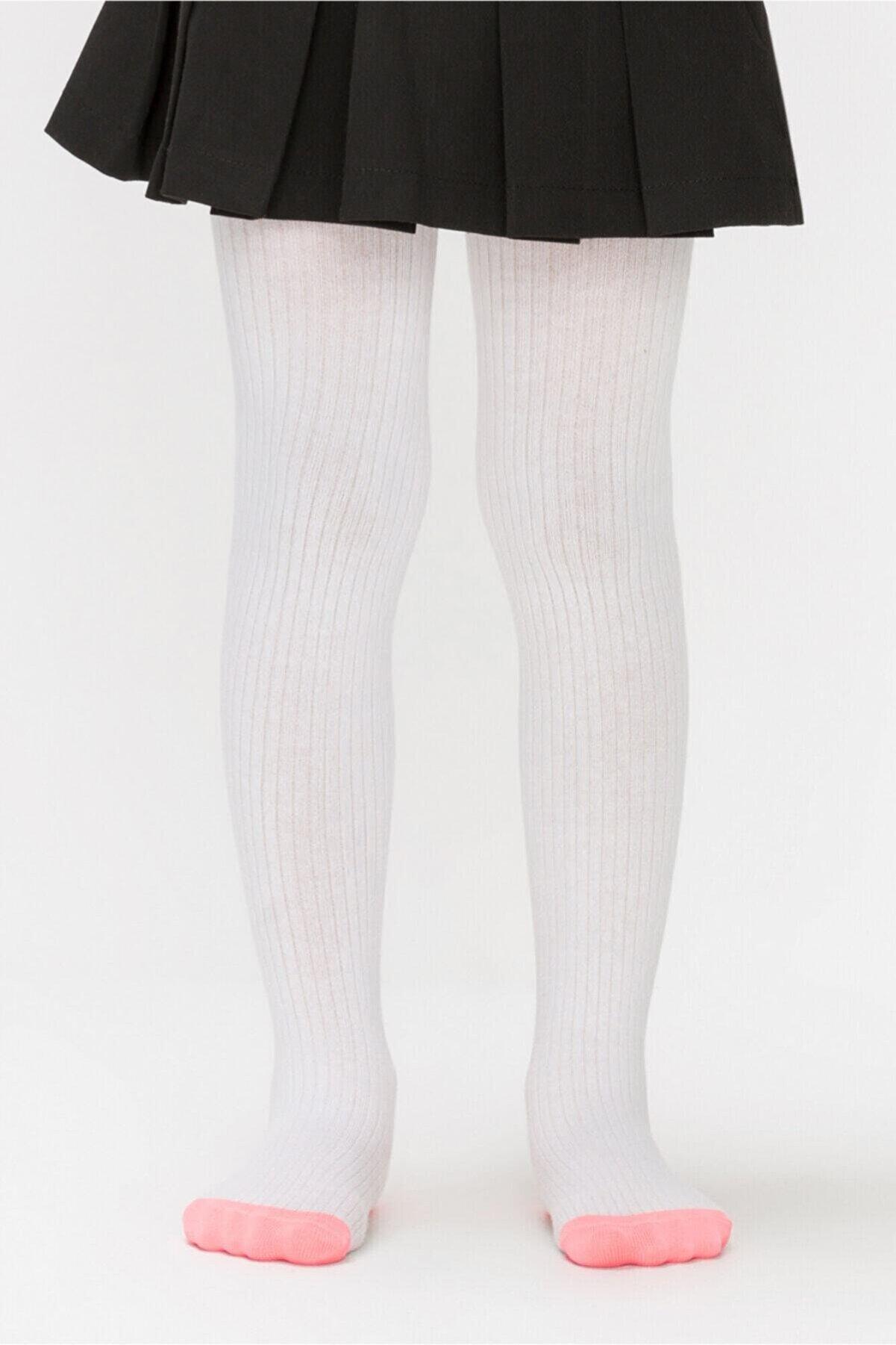 Penti Beyaz Renk Triko Külotlu Çorap
