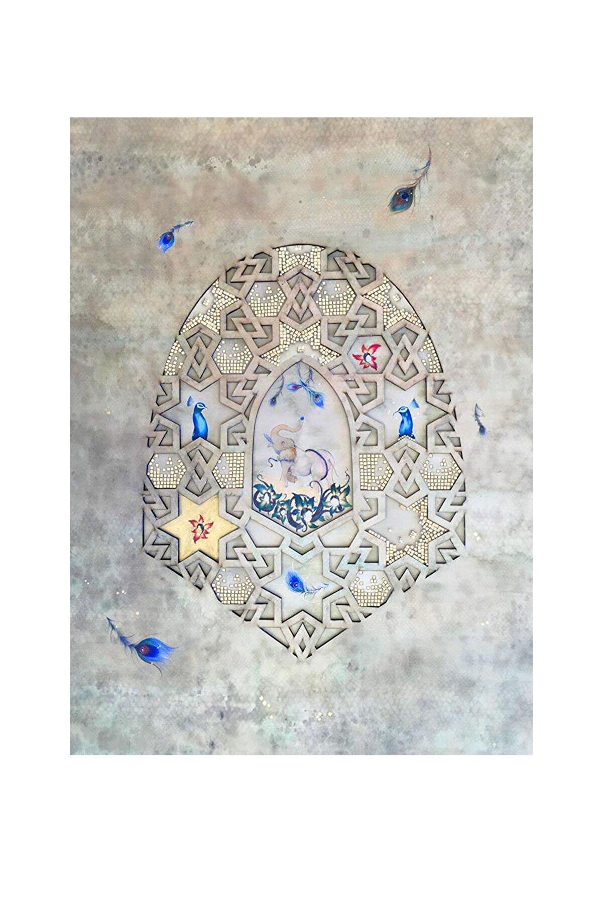 Zeynep Bato Bilinçaltı, 70x100, Mdf Üzerine Boyanmış Kağıt Üzerine Mozaik ve Suluboya
