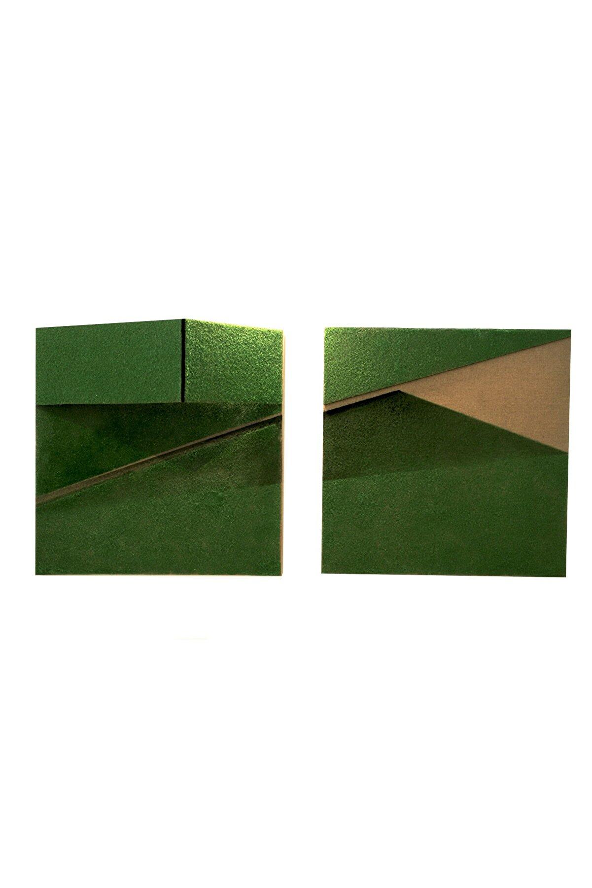 Elif Köse Gölge 3, 50x110x13, Tuval Üzerine Karışık Teknik