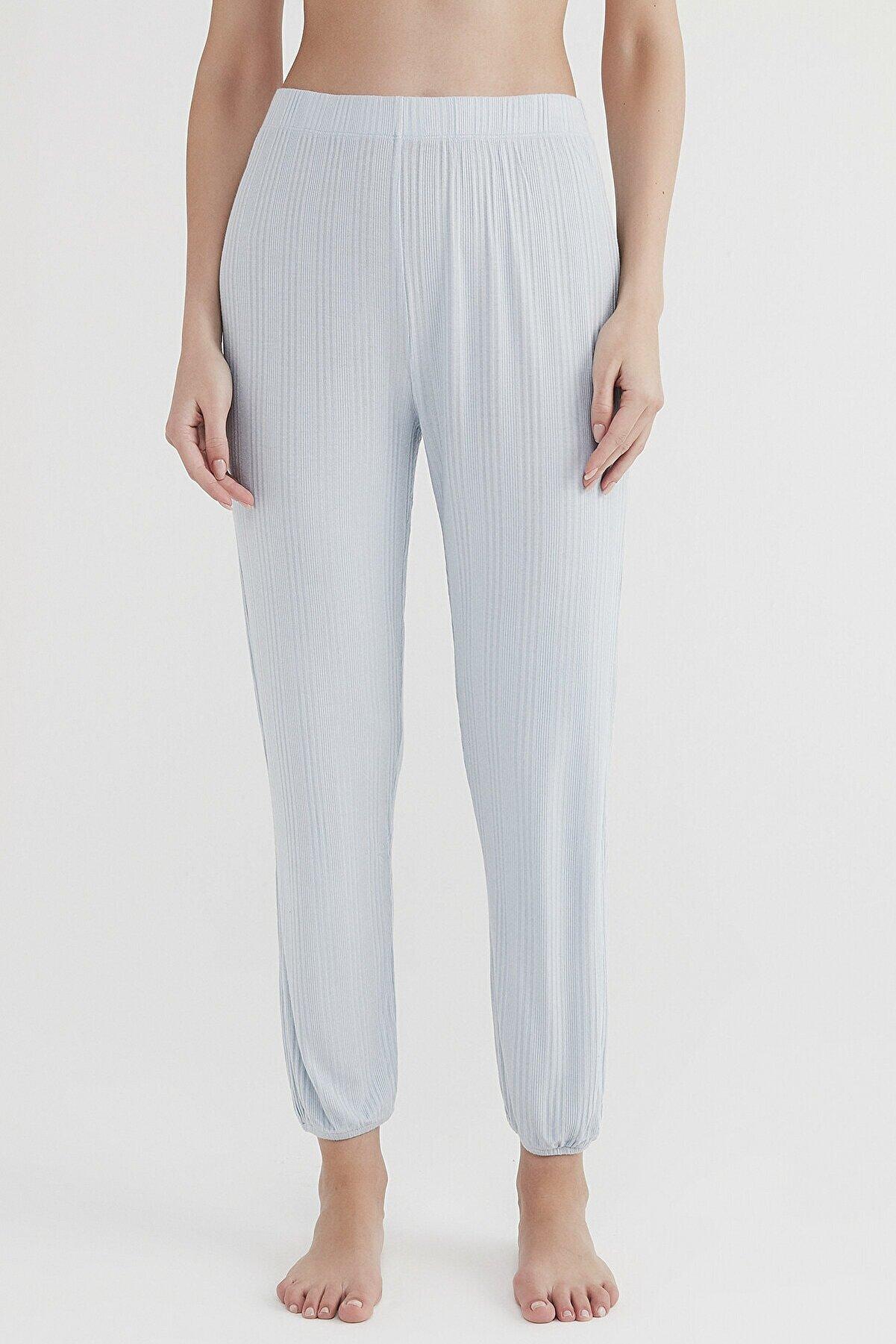 Penti Kadın Renkli Lounge Blue Pantolon