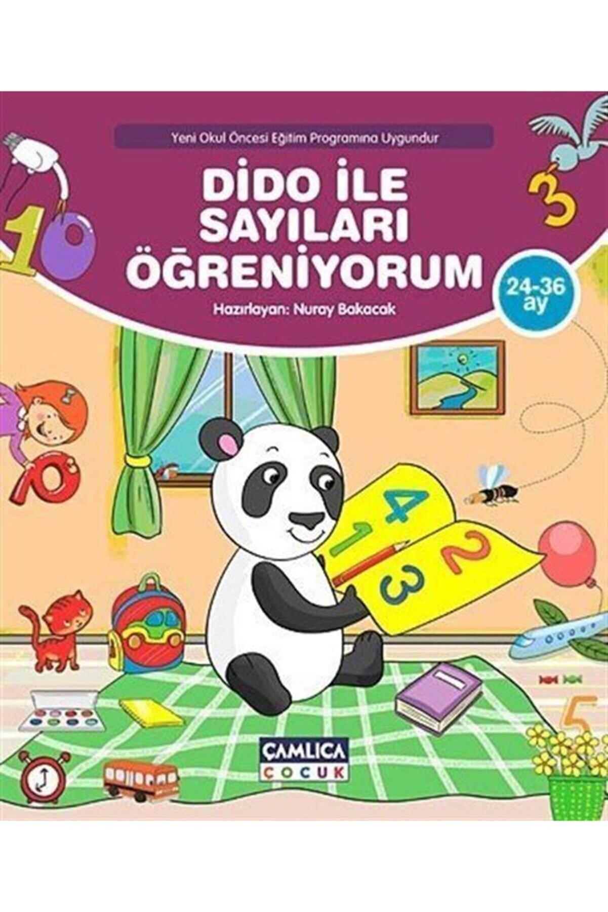 Çamlıca Çocuk Yayınları Dido Ile Sayıları Öğreniyorum (24-36 Ay)