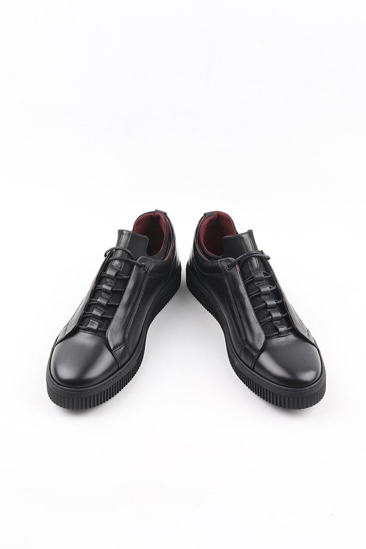 Buffalo El Yapımı Siyah Collection Ayakkabı