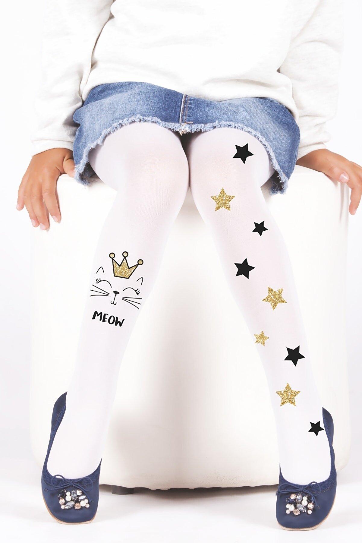 Daymod Meow Çocuk Külotlu Çorap