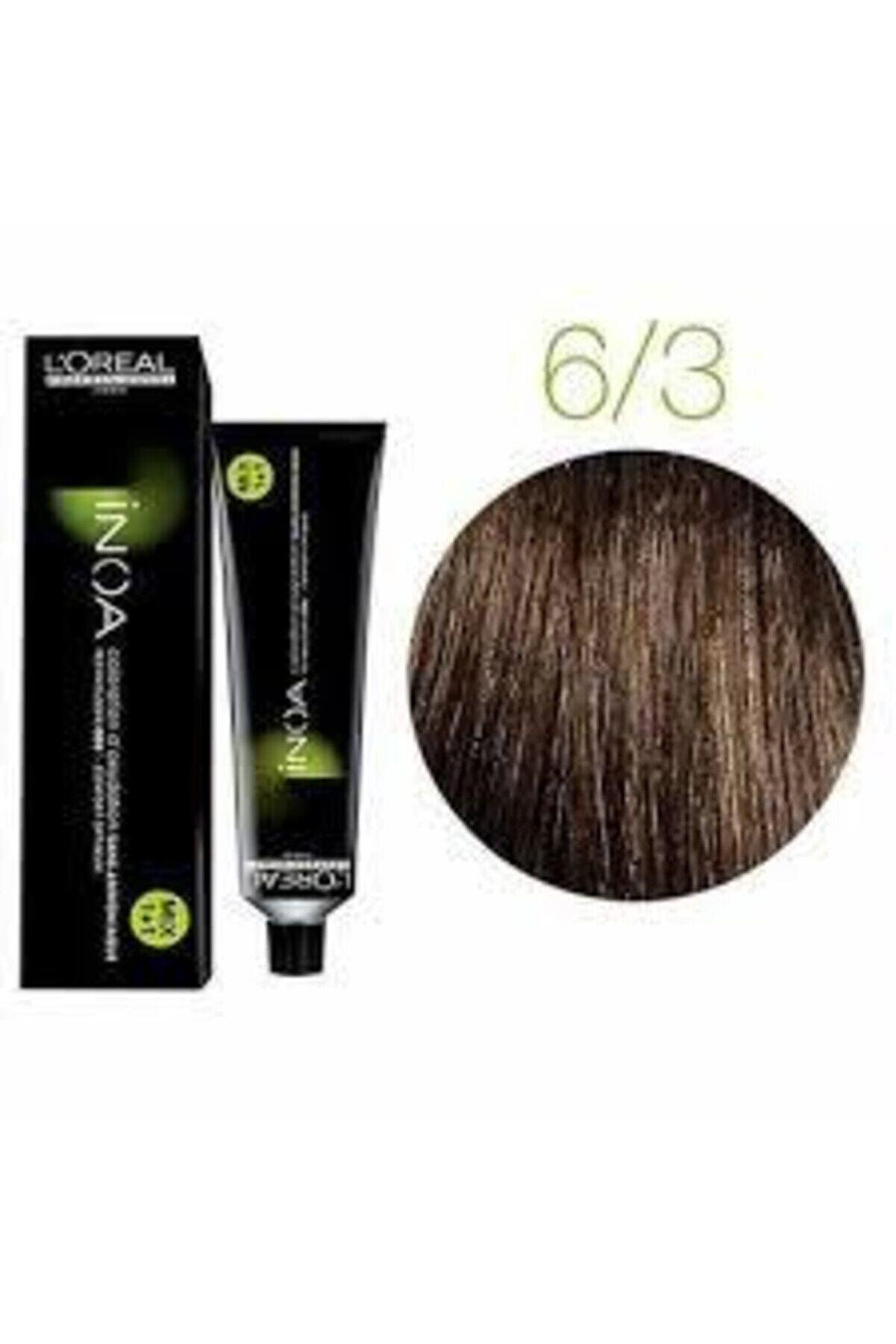 İNOA 6.3 Numara Koyu Kumral Dore Saç Boyası 60 Ml (oksidansız)