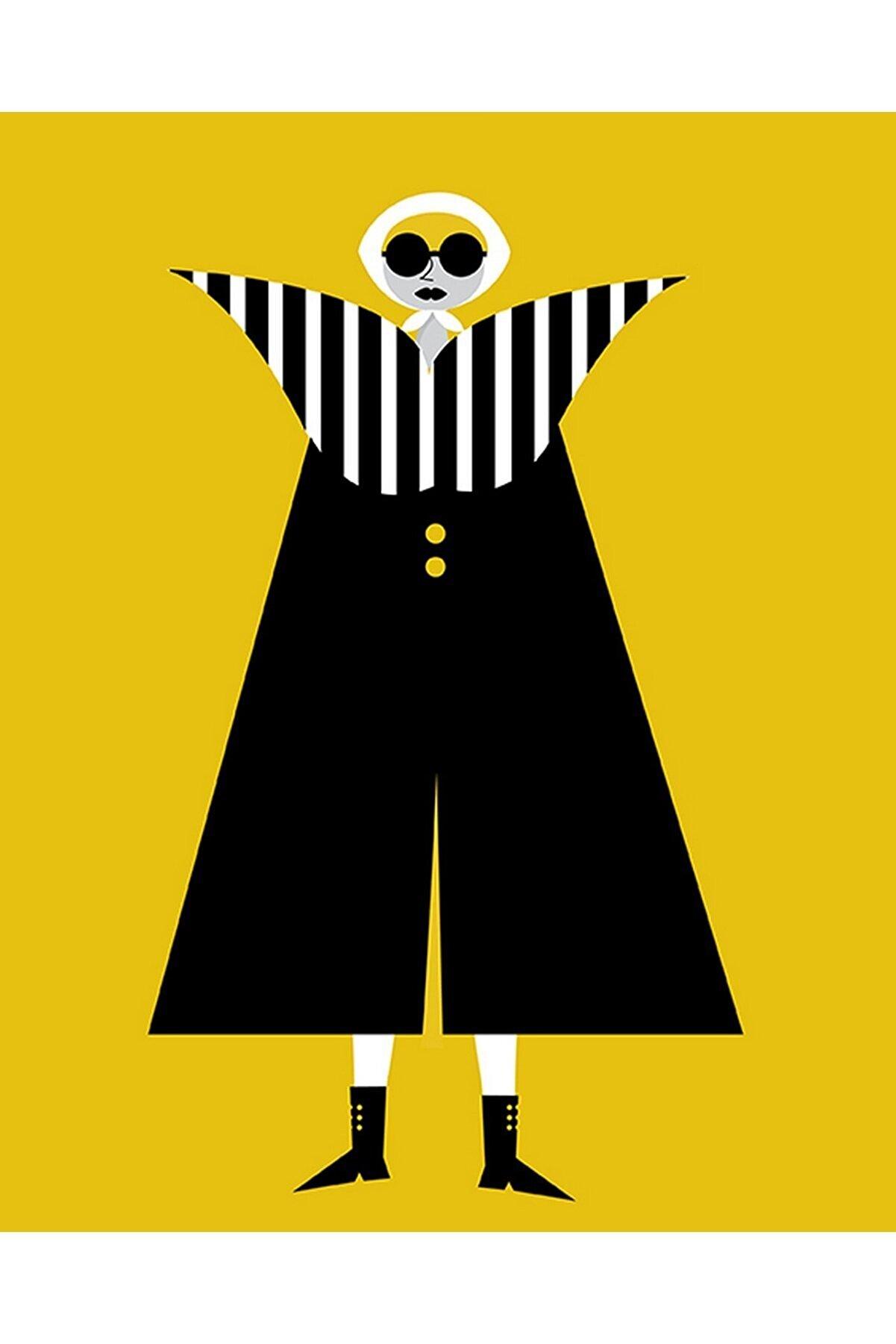 Olgun Kaşıkçı Women In Strapes, 50x70, Dijital Ilüstrasyon, Dokulu Kağıt