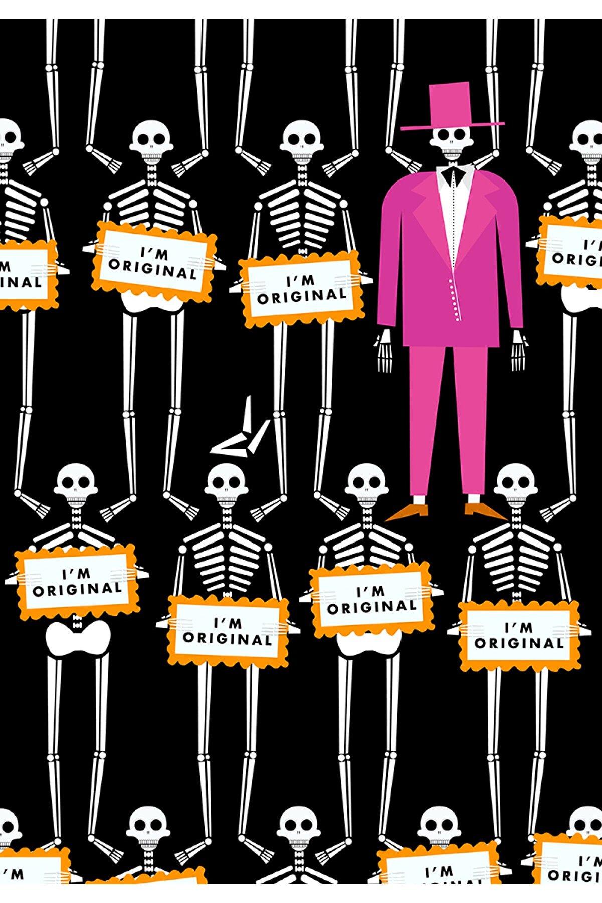 Olgun Kaşıkçı The Originals, 50x70, Dijital Ilüstrasyon, Dokulu Kağıt