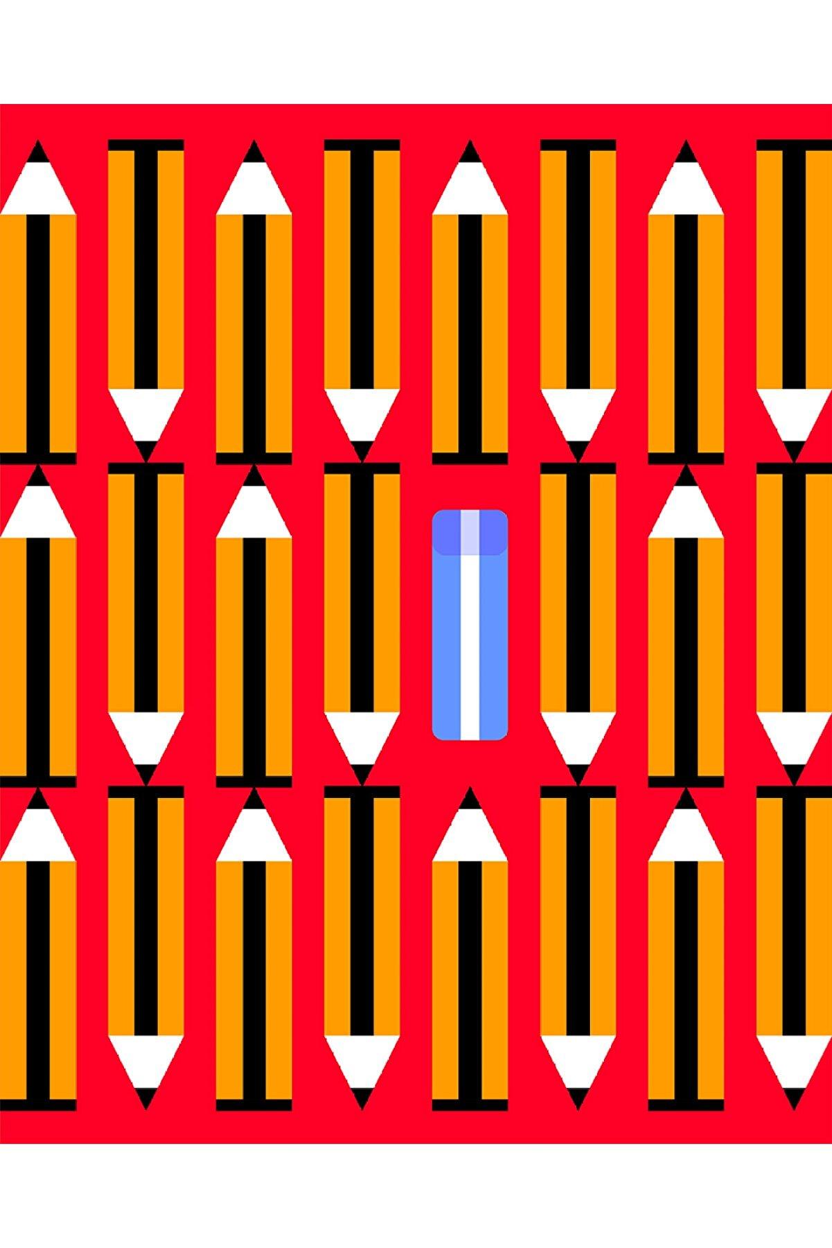 Olgun Kaşıkçı Eraser's Impact, 50x70, Dijital Ilüstrasyon, Dokulu Kağıt