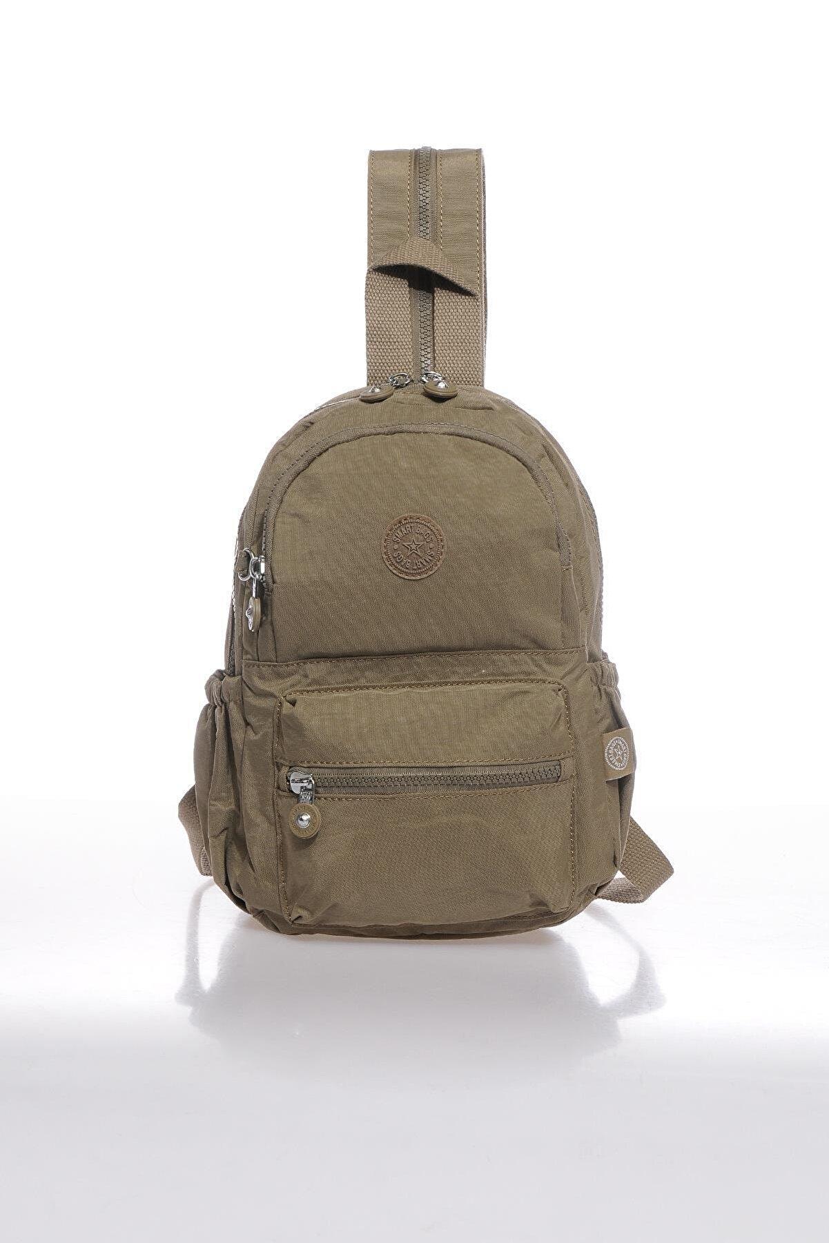 Smart Bags Kadın Kahverengi Küçük Sırt Çantası Smbk1030-0007