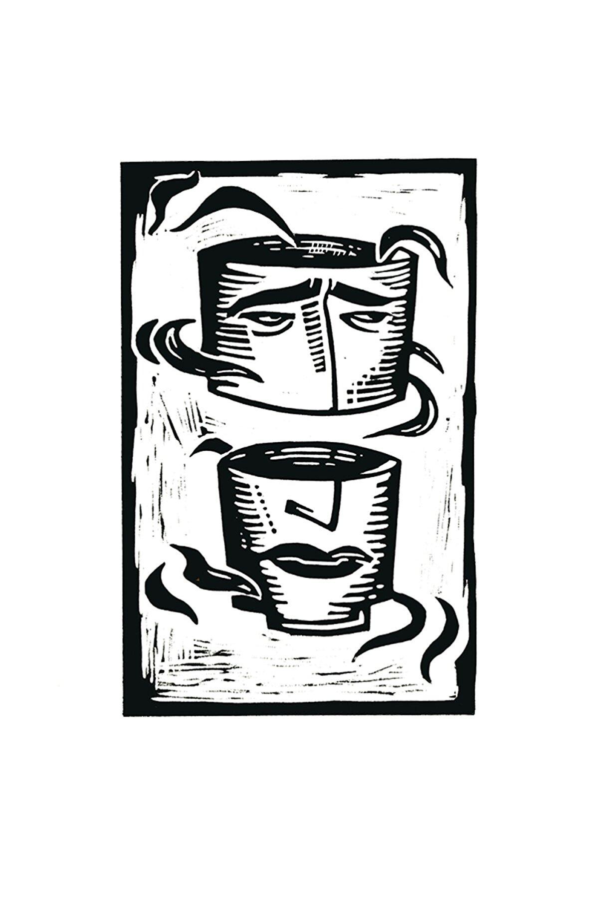 Aylin Taslak Where's My Mind?, 35x50, Linol Baskı