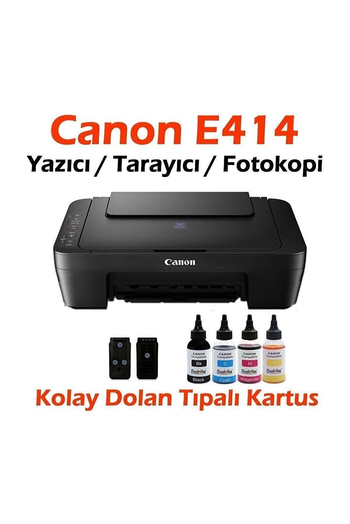 Canon Dolan Kartuşlu E414 Yazıcı / Tarayıcı / Fotokopi