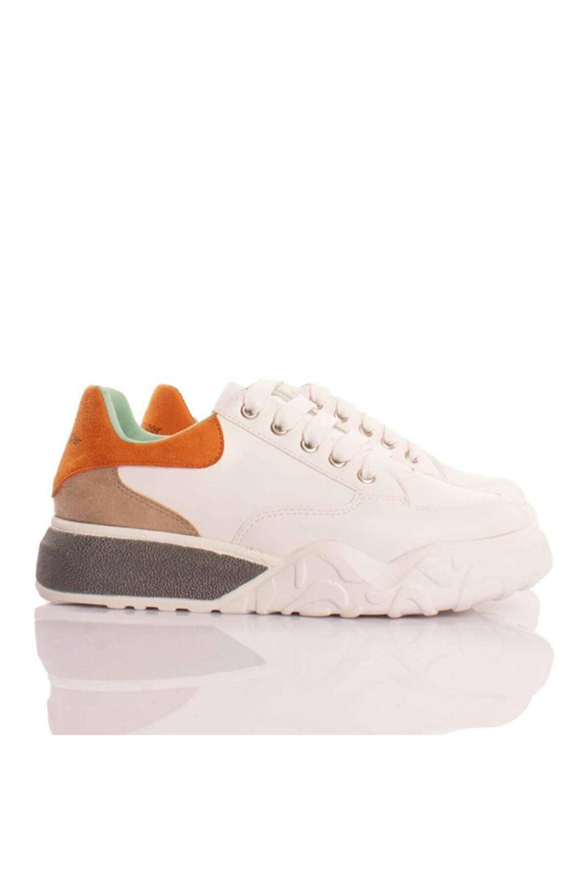 L&L Regov Beyaz-renkli Kadın Sneakers