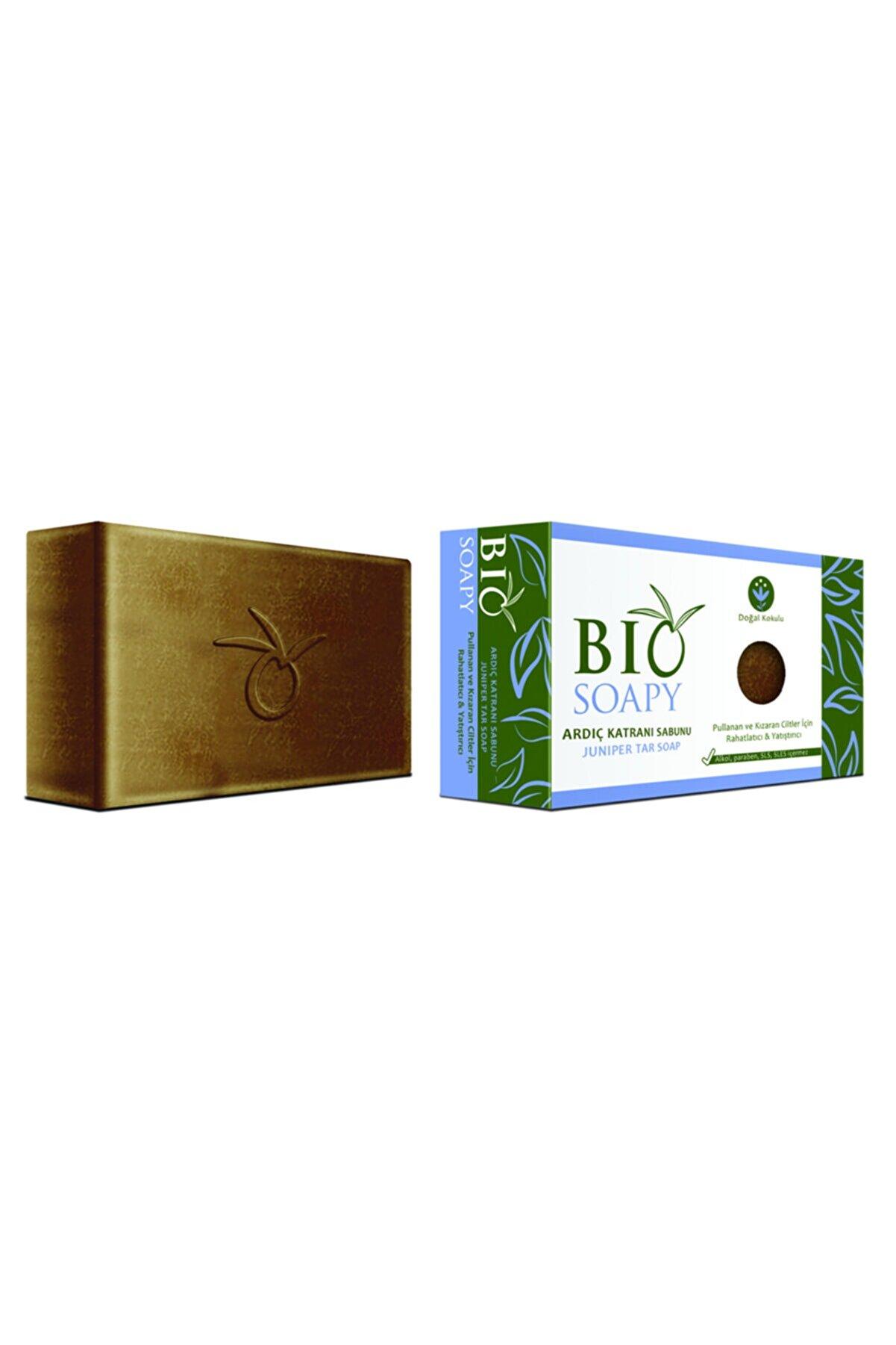 Biosoapy Doğal Ardıç Katranı Sabunu 100 Gr X 3 Adet (kaşıntı, Pullanma Ve Kızarıklıkta Rahatlatıcı Etki)