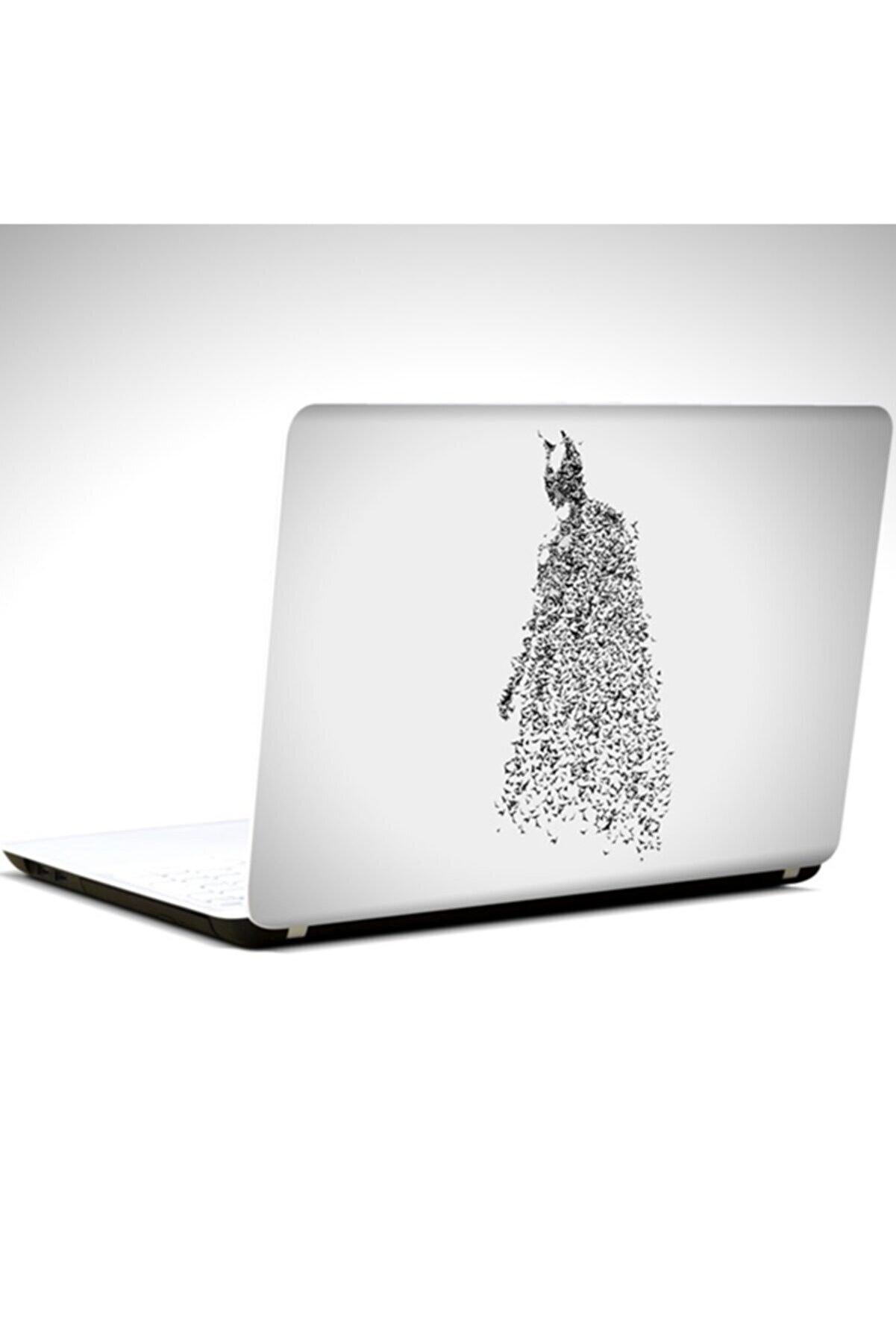 Dekolata Batman Ve Yarasalar Laptop Sticker Laptop 19 Inch (40,5x27 cm)