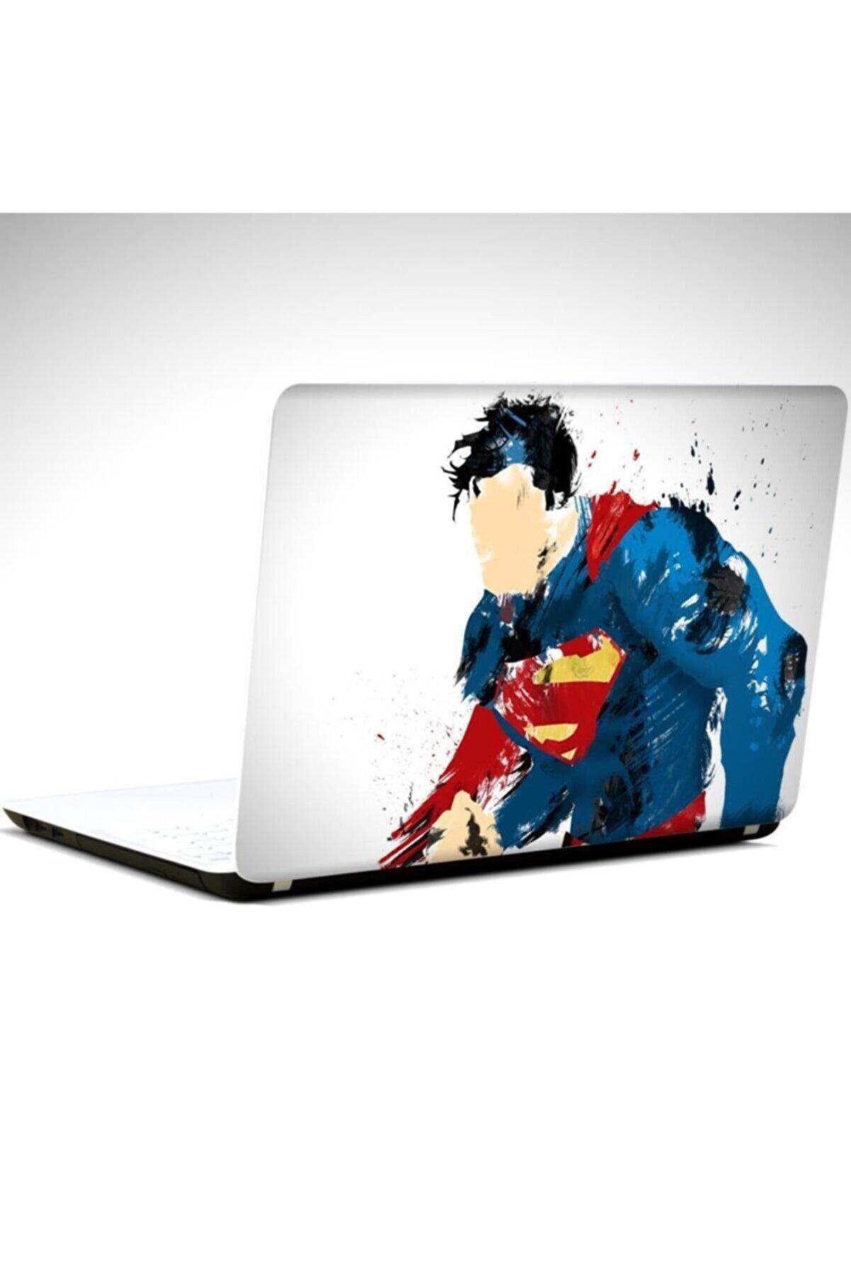 Dekolata Süperman 2 Laptop Sticker 19 Inch (40,5x27 cm)