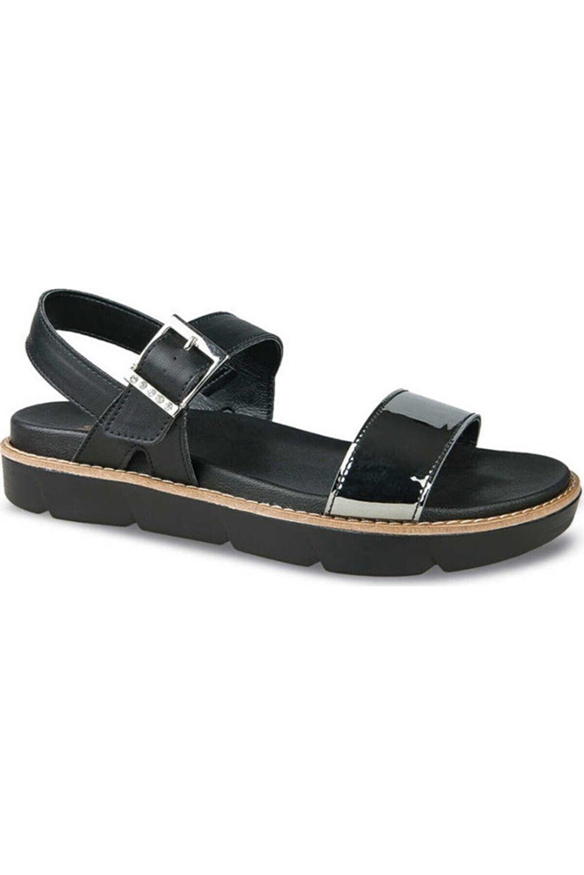 Ceyo Platin Kadın Sandalet