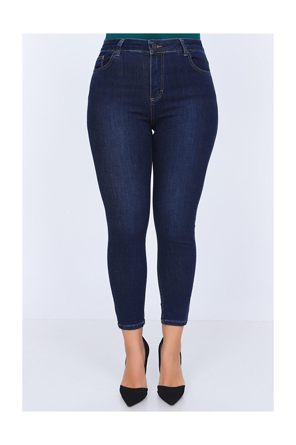 Rmg Kadın Lacivert Kot Pantolon 1465