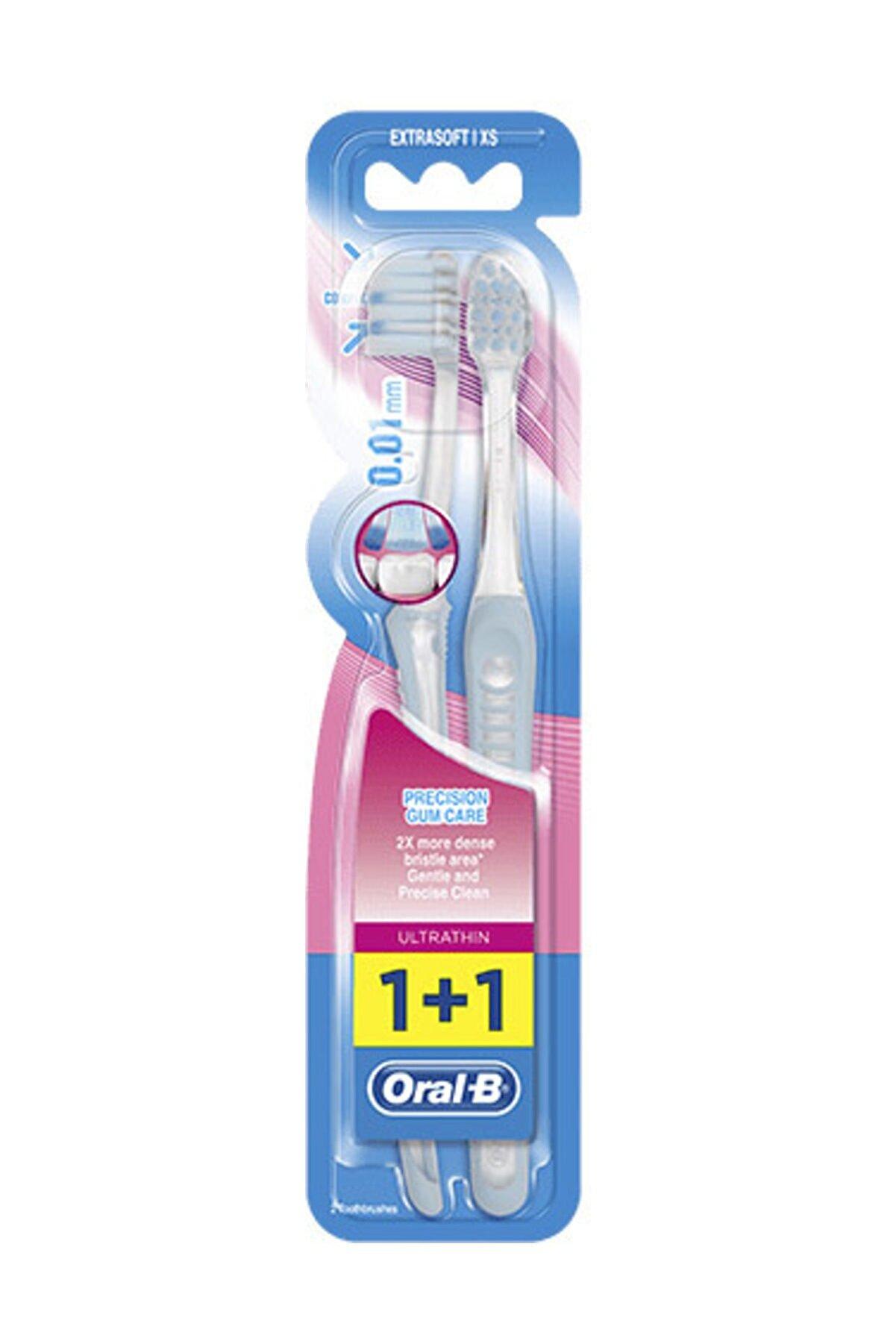 Oral-B Diş Fırçası Ultrathin Kompakt Hassas Diş Eti Bakımı Ekstra Yumuşak 2'li Fırsat Paketi