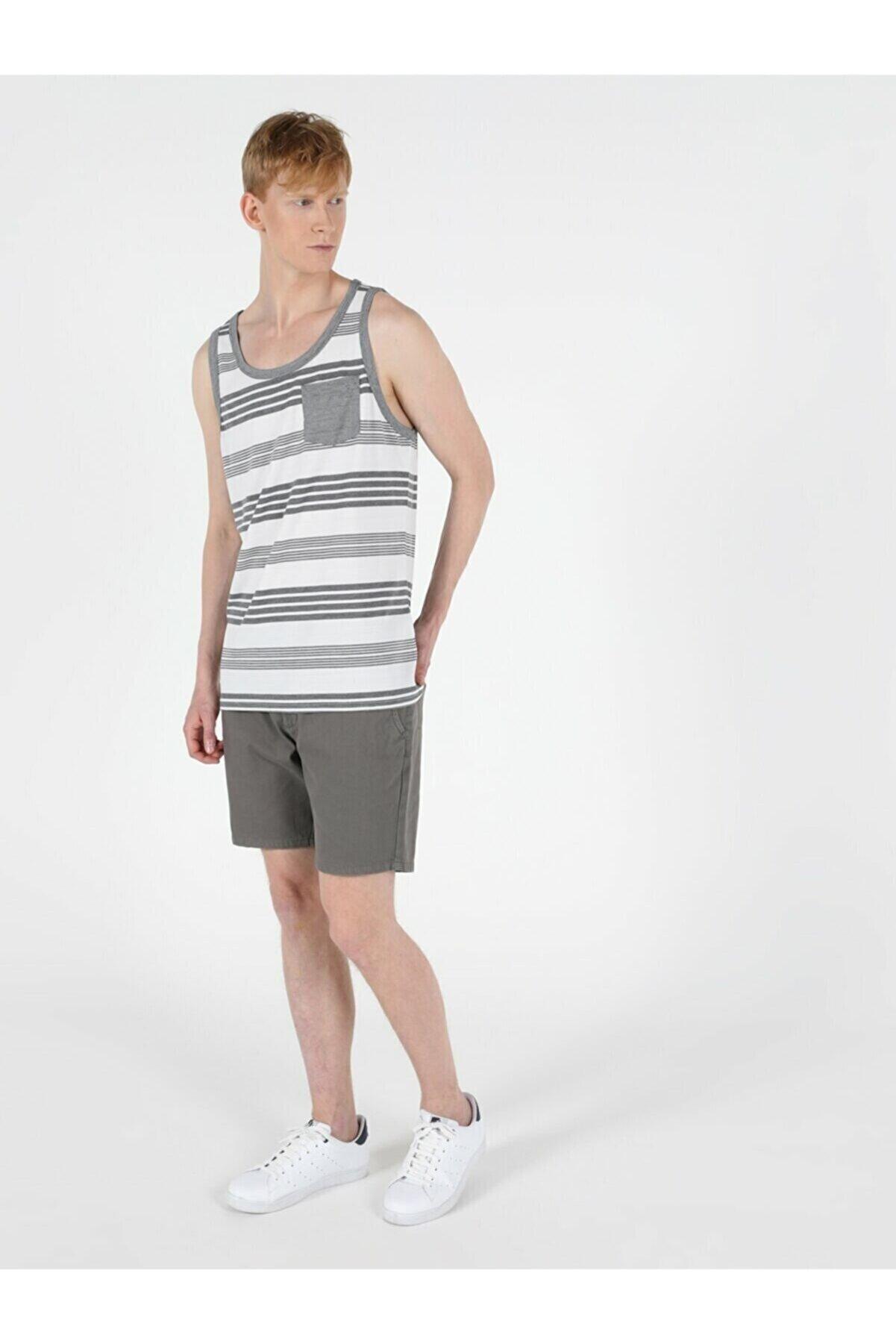 Colin's ERKEK Regular Fit Erkek Beyaz Atlet CL1049493