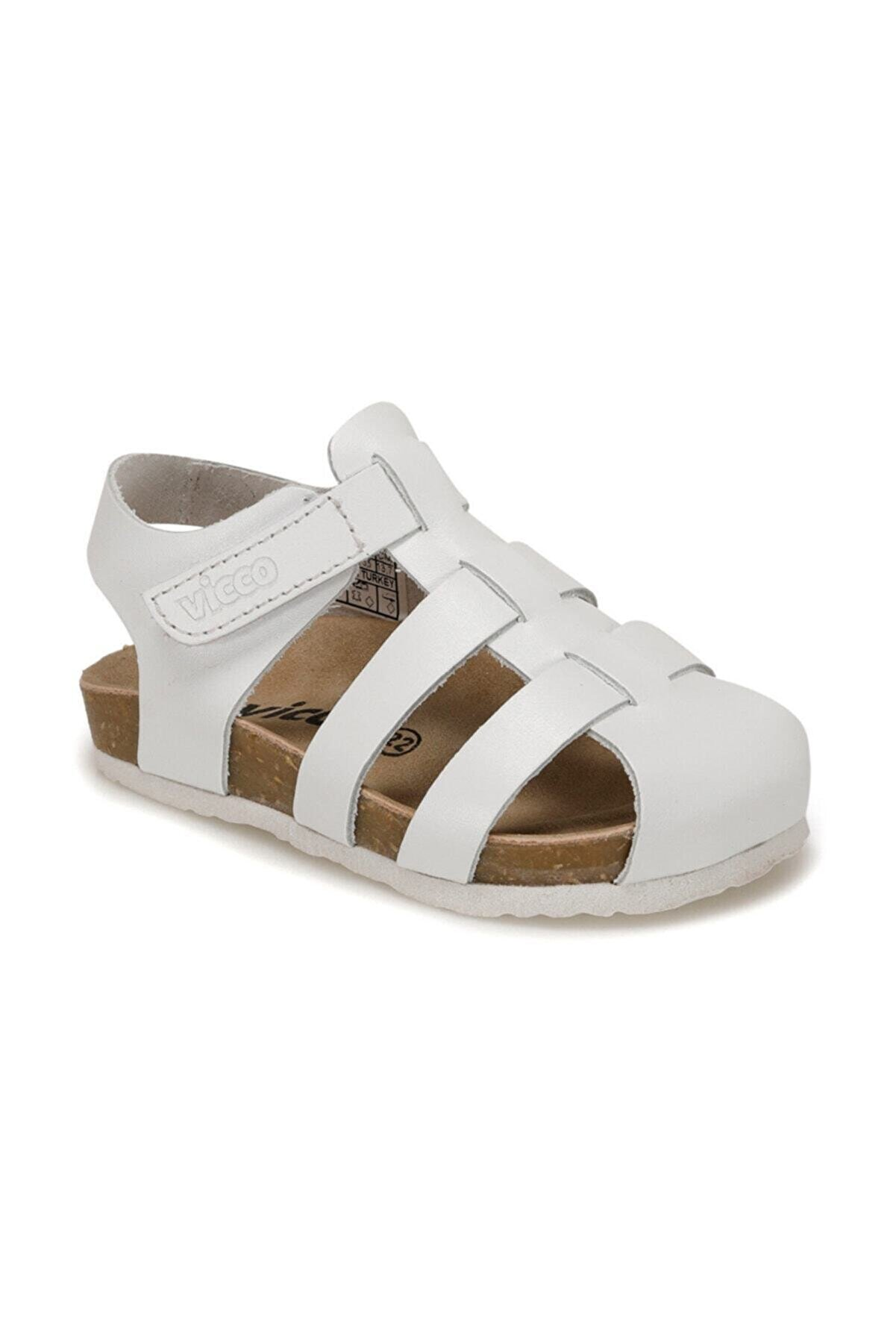 Vicco 905.P20Y.080 Beyaz Kız Çocuk Sandalet 100578814