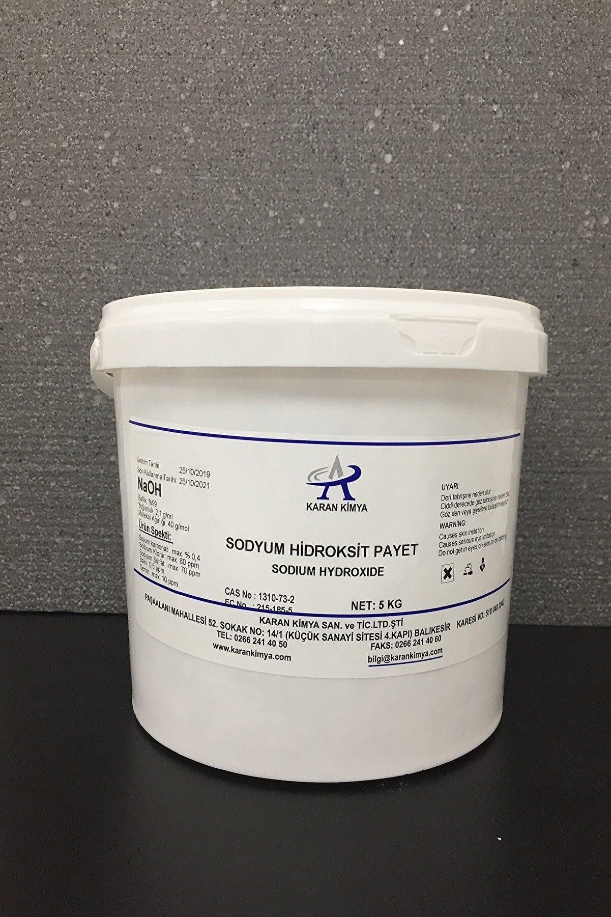 KRNKMY Payet Kostik (Sodyum Hidroksit) 3 kg