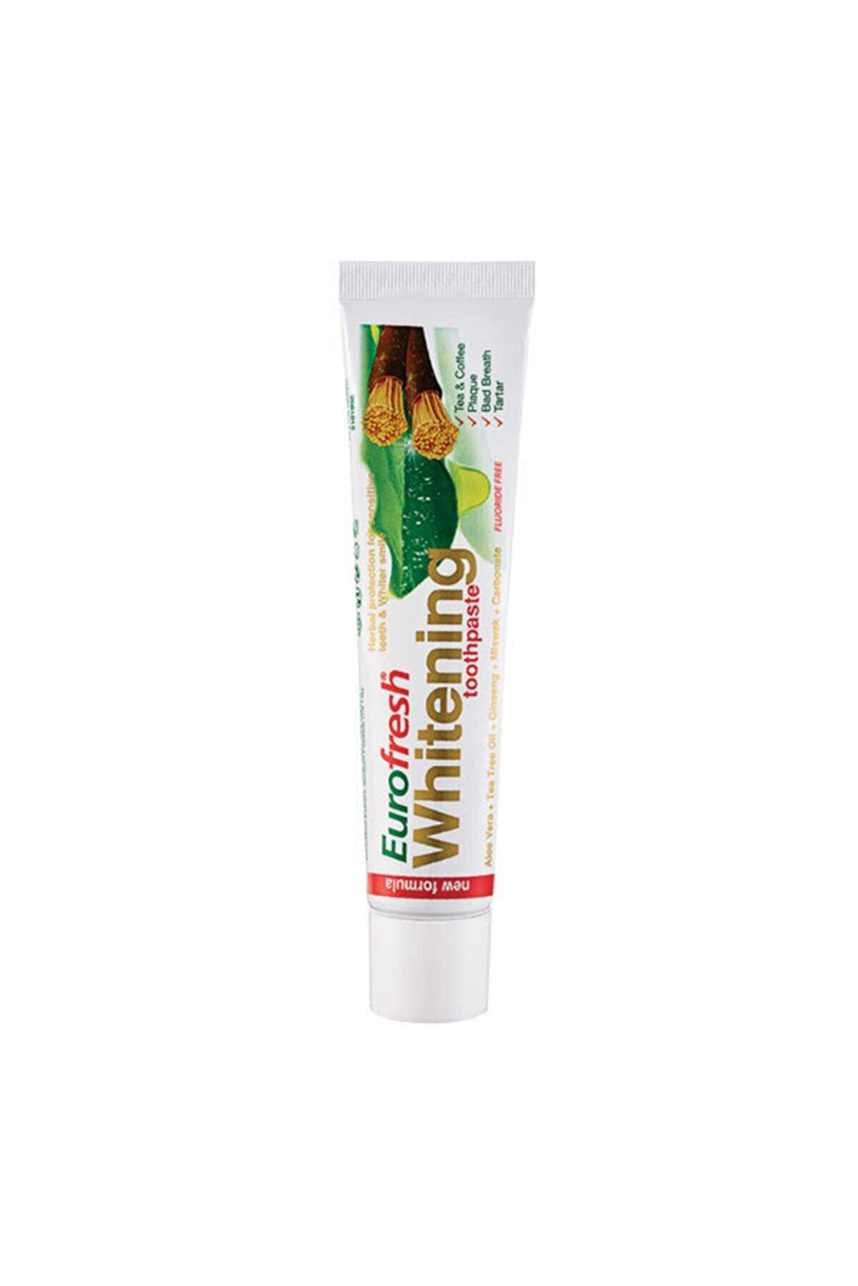Farmasi Eurofresh Aloe Veralı Misvaklı Beyazlatıcı Diş Macunu 25 Gr