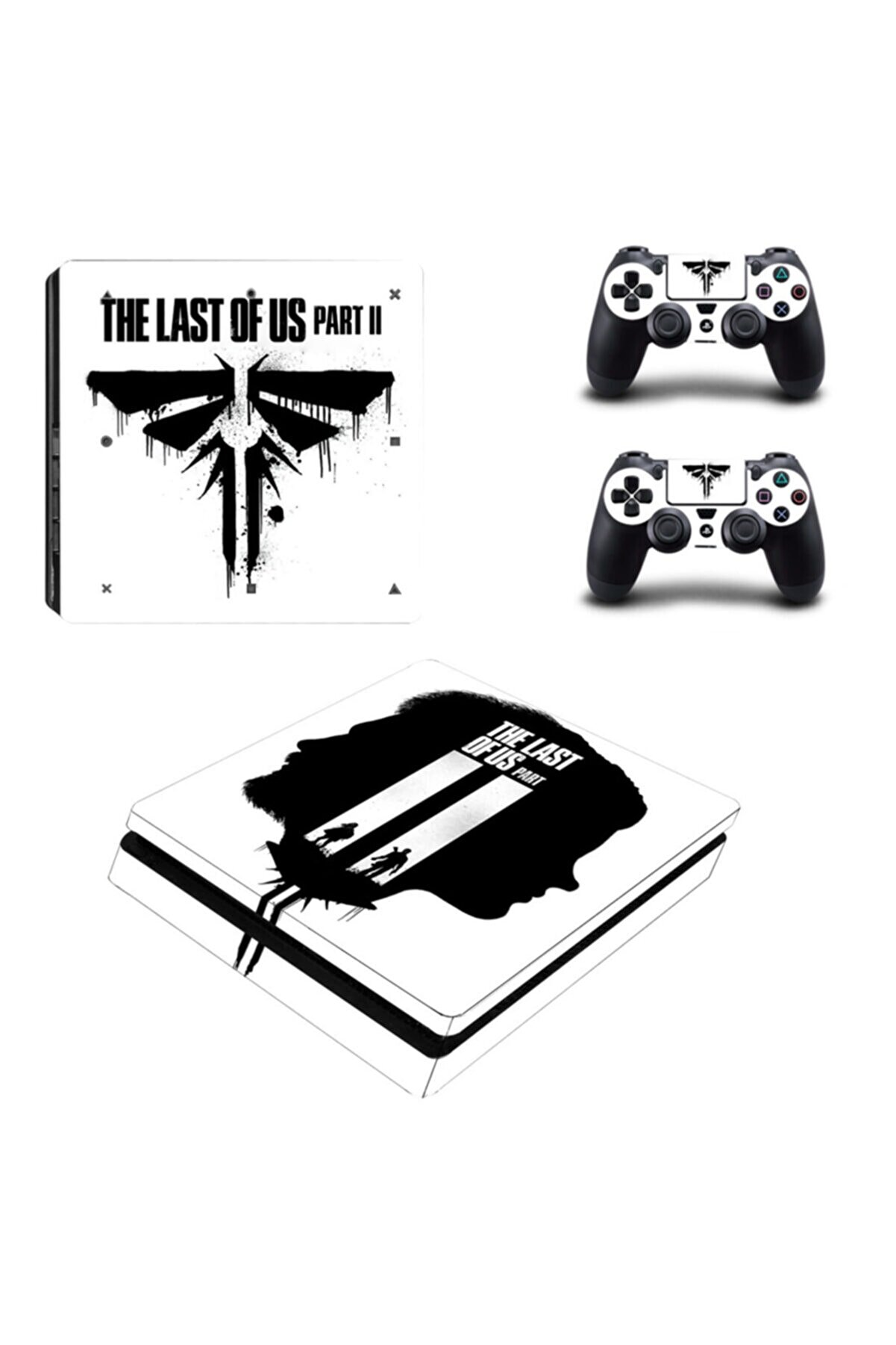 KT Decor The Last Of Us Playstation 4 Slim Kasa Sticker Kaplama