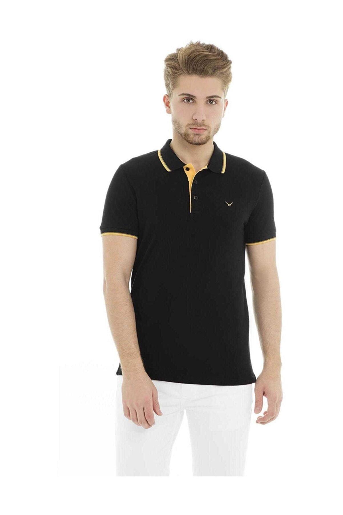 Cazador Erkek Siyah T-Shirt - Cdr4614-19YCEEOM4614