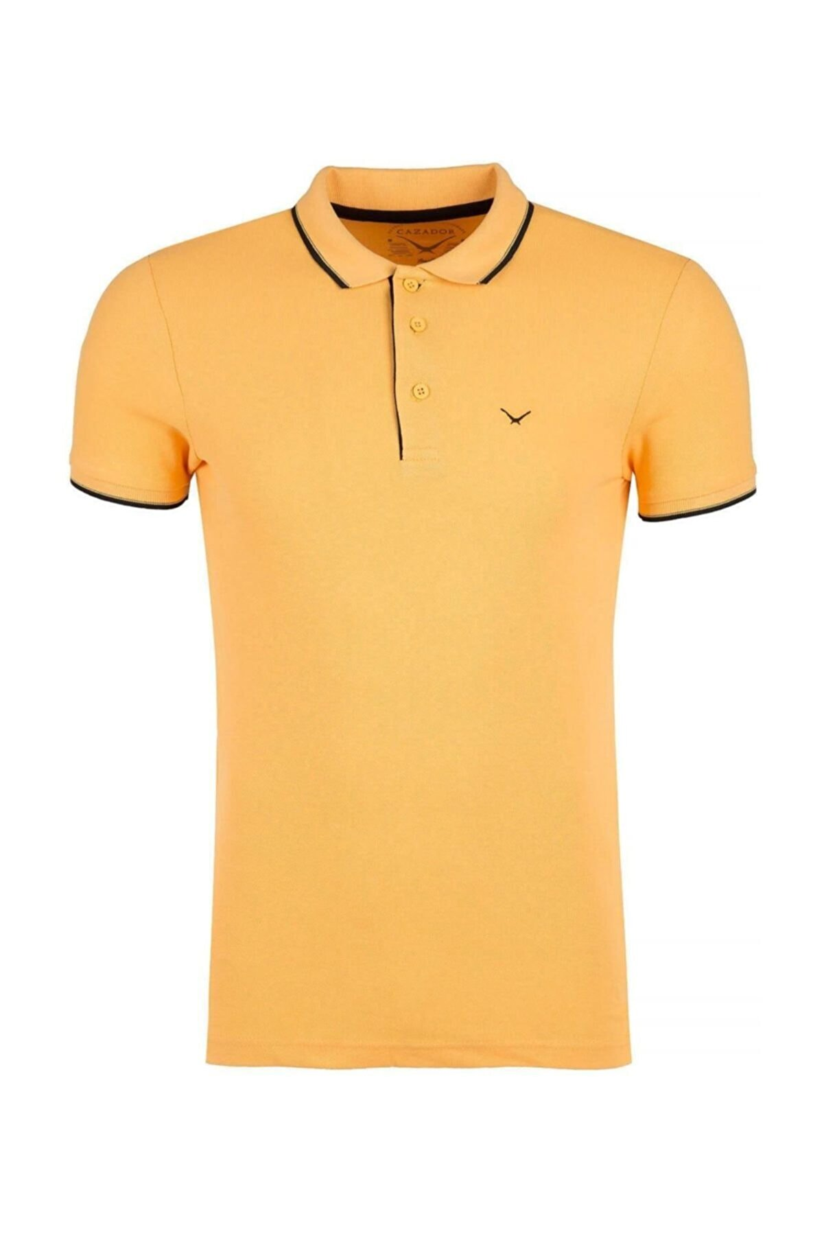 Cazador Erkek Hardal T-Shirt - Cdr4614-19YCEEOM4614