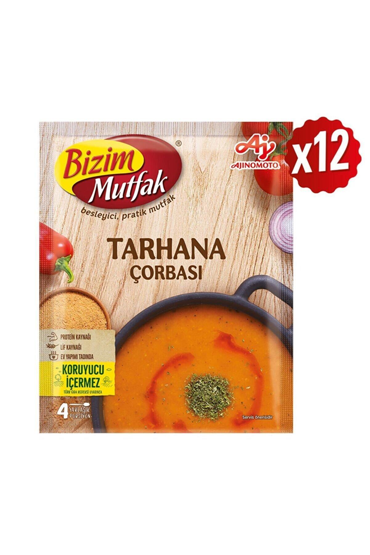 Bizim Mutfak Tarhana Çorbası 65 Gr 12'Li Paket