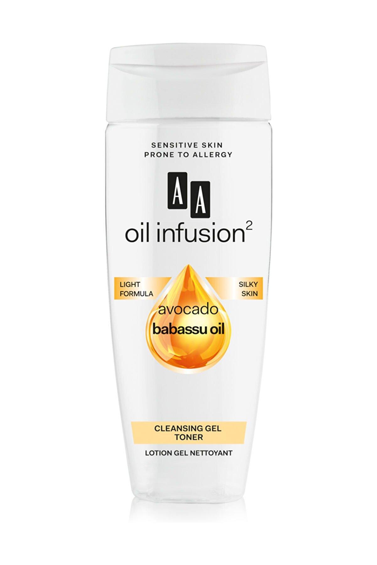 AA Cosmetics Oil Infusion2 Cilt Temizleyici Jel Tonik 200ml