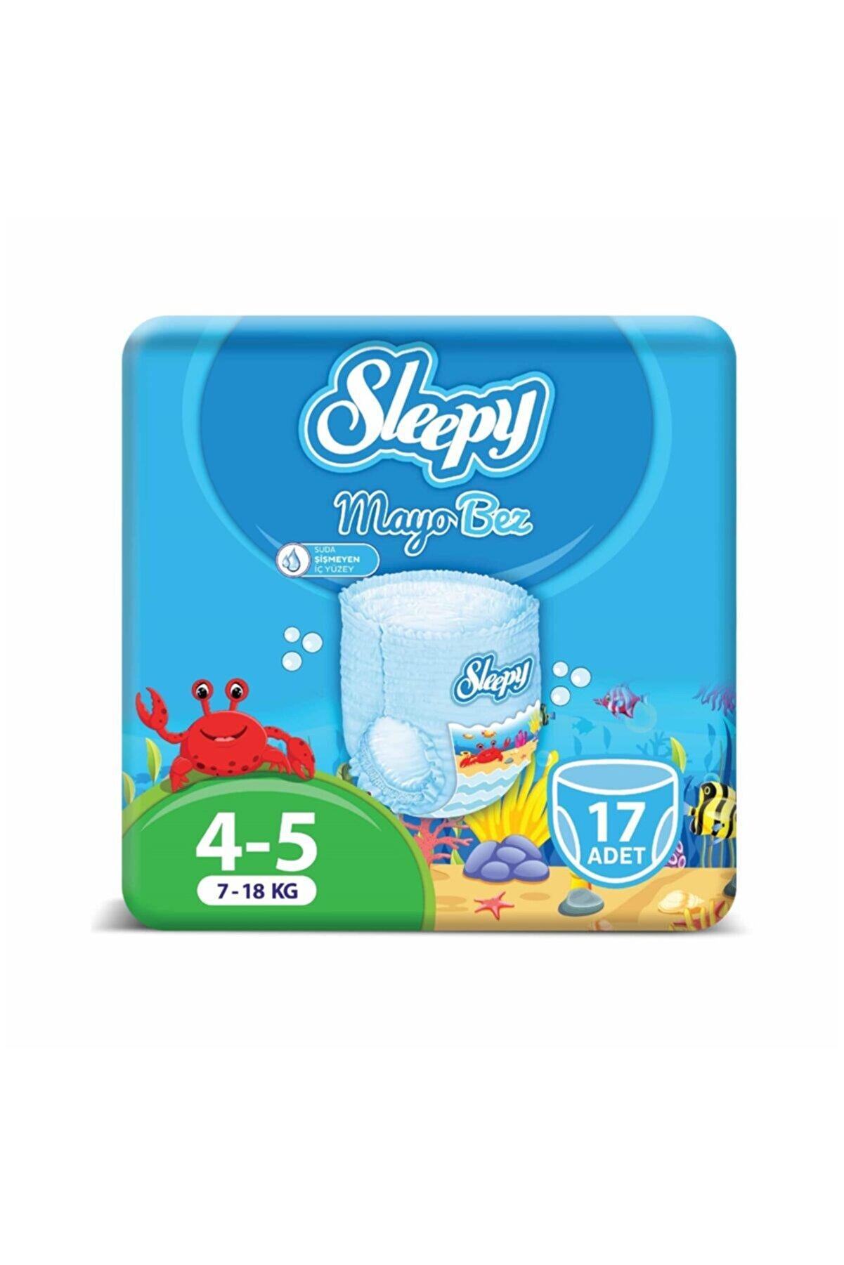 Sleepy Mayo Külot Bez 5 Beden Junior 17 Adet 7-18 Kg