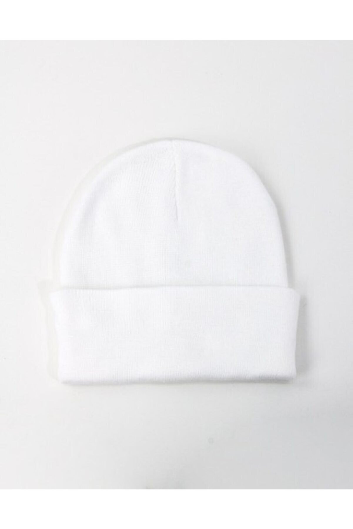 Mathilda Aksesuar Unisex Basic Bere Beyaz