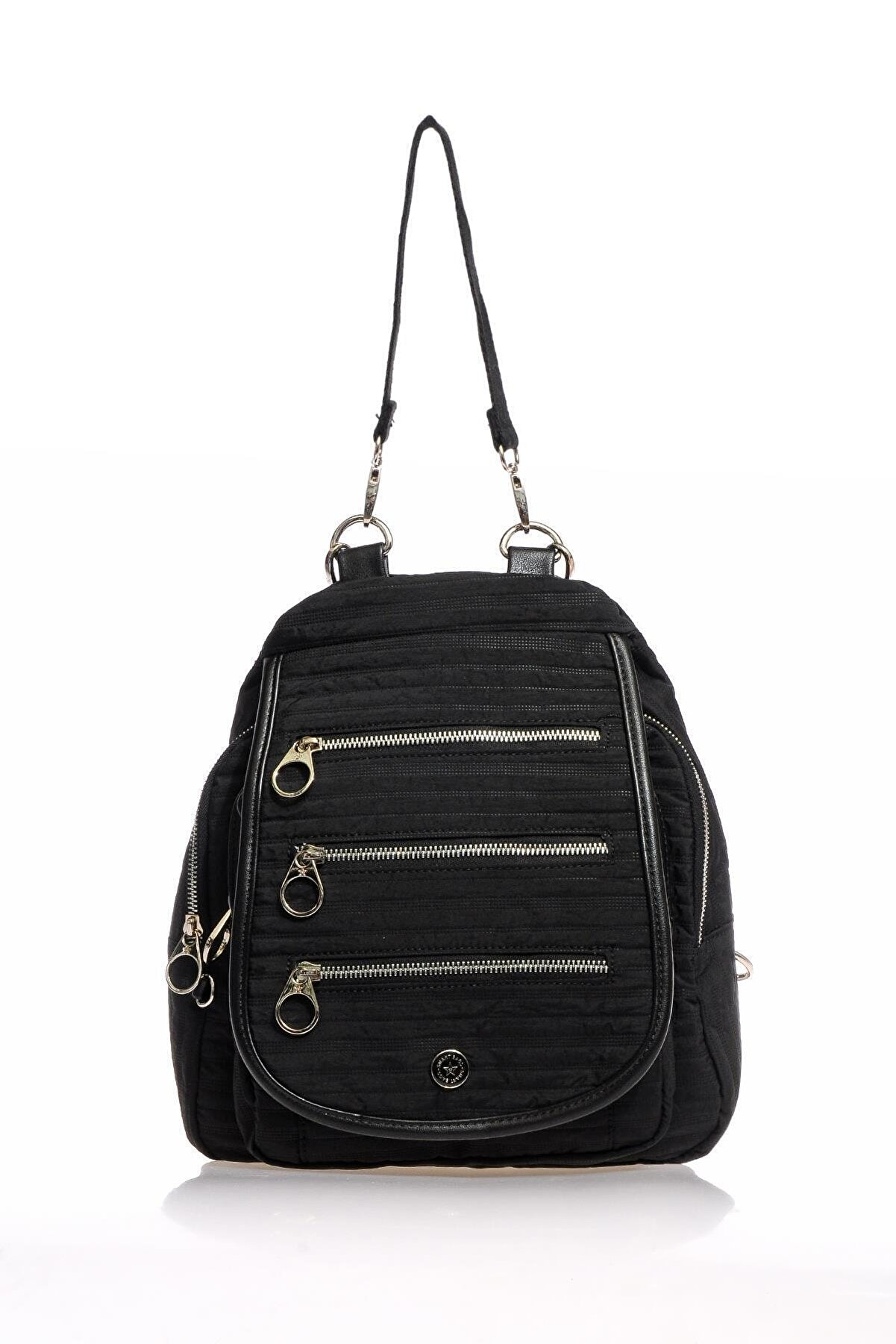 Smart Bags Smb3014-0001 Siyah Kadın Sırt Çantası