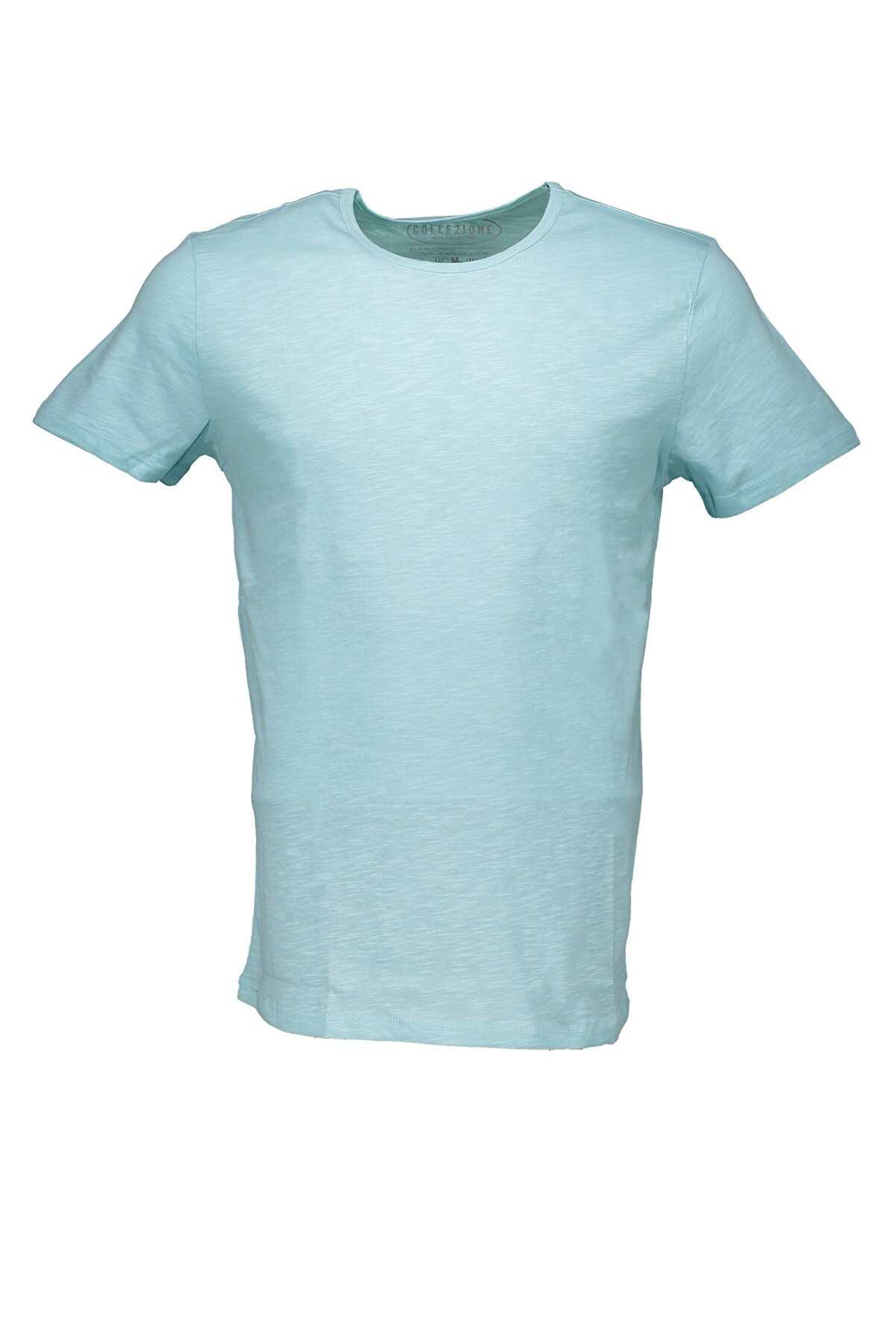 Collezione Mint Erkek Somon Spor Regular Kısa Kol T-shirt