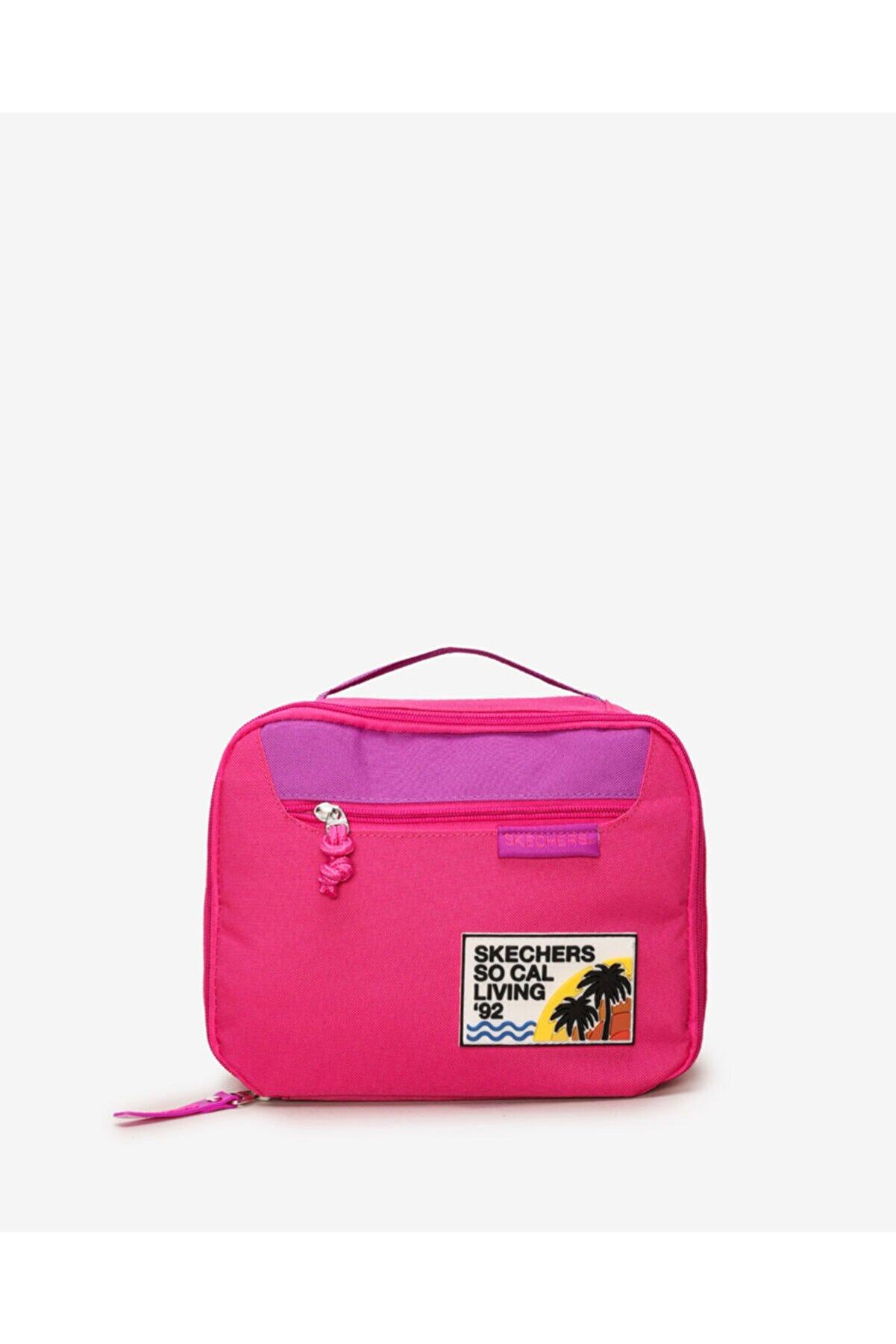 Skechers 1PK GIRLS LUNCH BAG - PINK FLAMBE Kız Çocuk Pembe Çanta