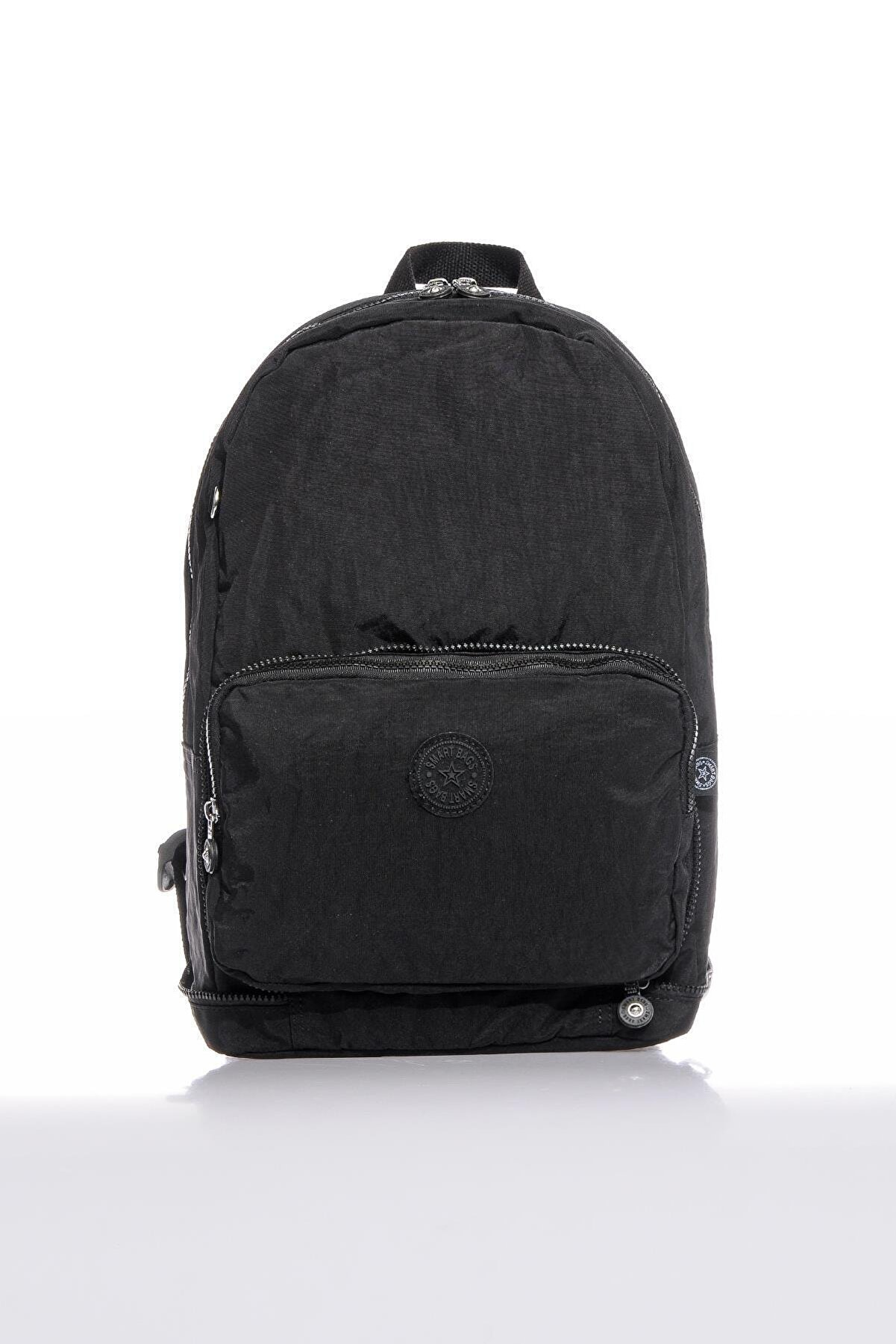 Smart Bags Smb3080-0001 Siyah Kadın Katlanabilir Sırt Çantası