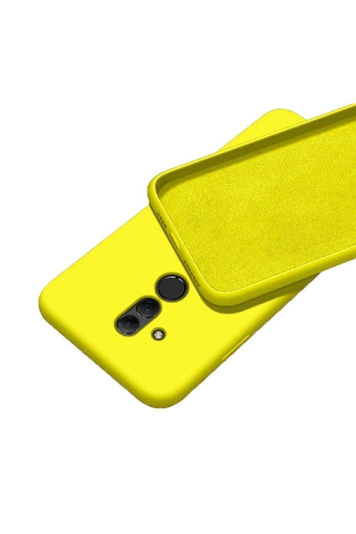 Mopal Huawei Mate 20 Lite Içi Kadife Lansman Silikon Kılıf