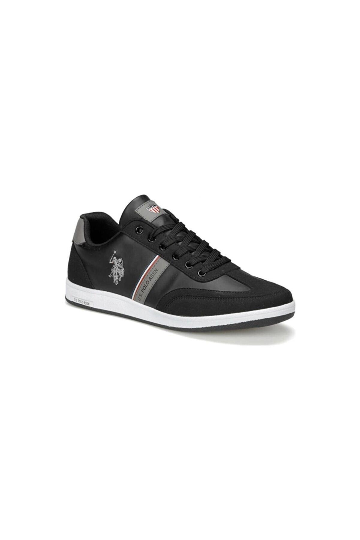 US Polo Assn KARES WT 9PR Siyah Erkek Sneaker Ayakkabı 100417978