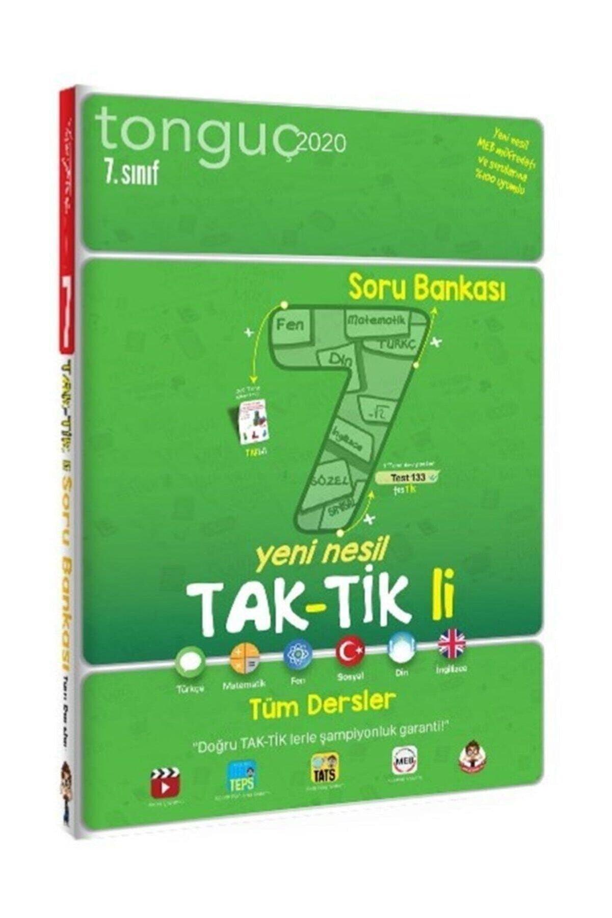 Tonguç Akademi 7. Sınıf Tüm Dersler Taktikli Soru Bankası - Kolektif