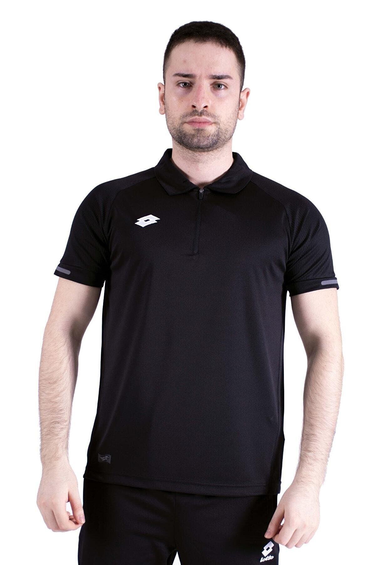 Lotto Siyah Polo T-shirt-moscu Polo Camp Pl-r8906