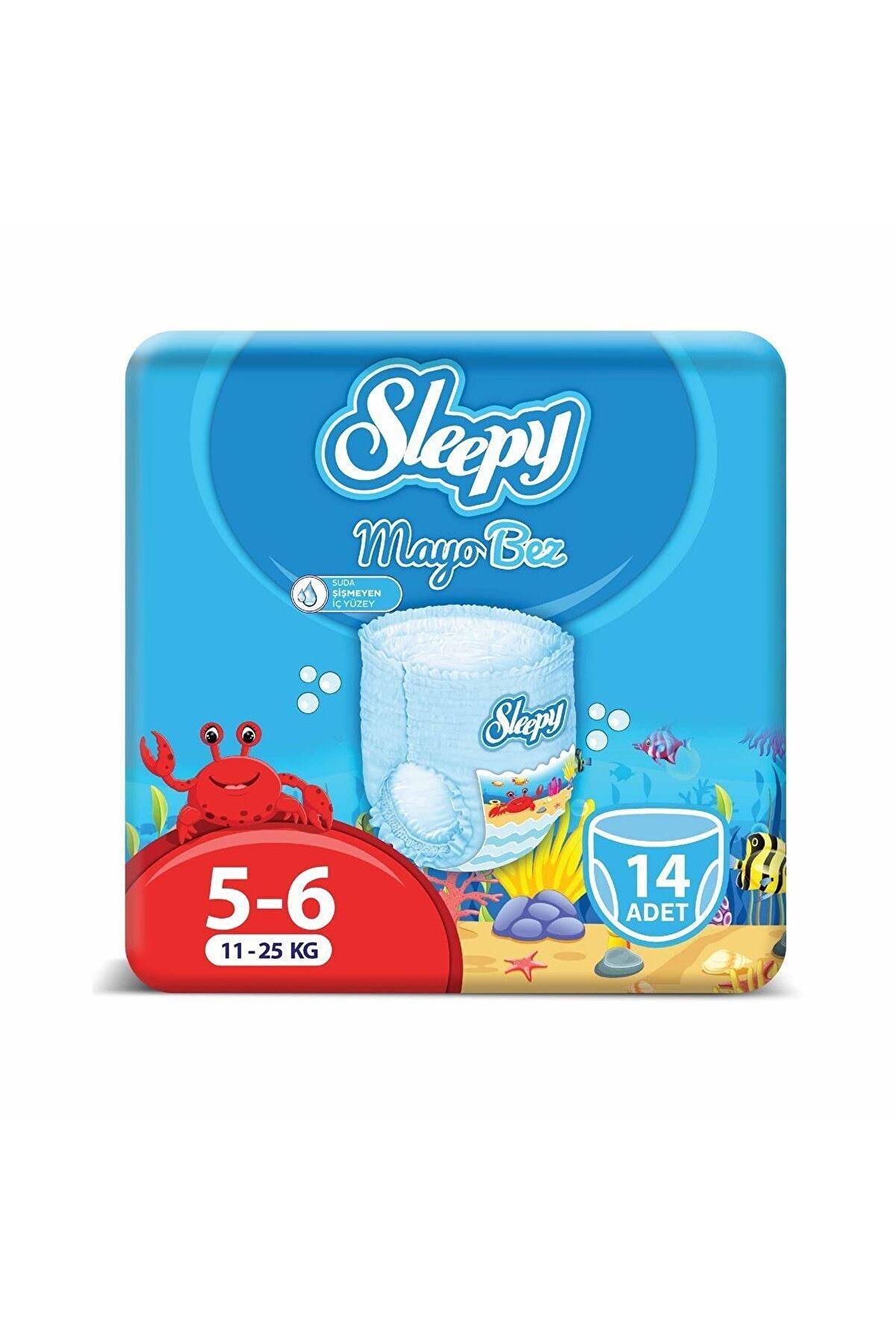 Sleepy 6 Beden Xlarge Mayo Külot Bez 14 Adet 11-25 Kg