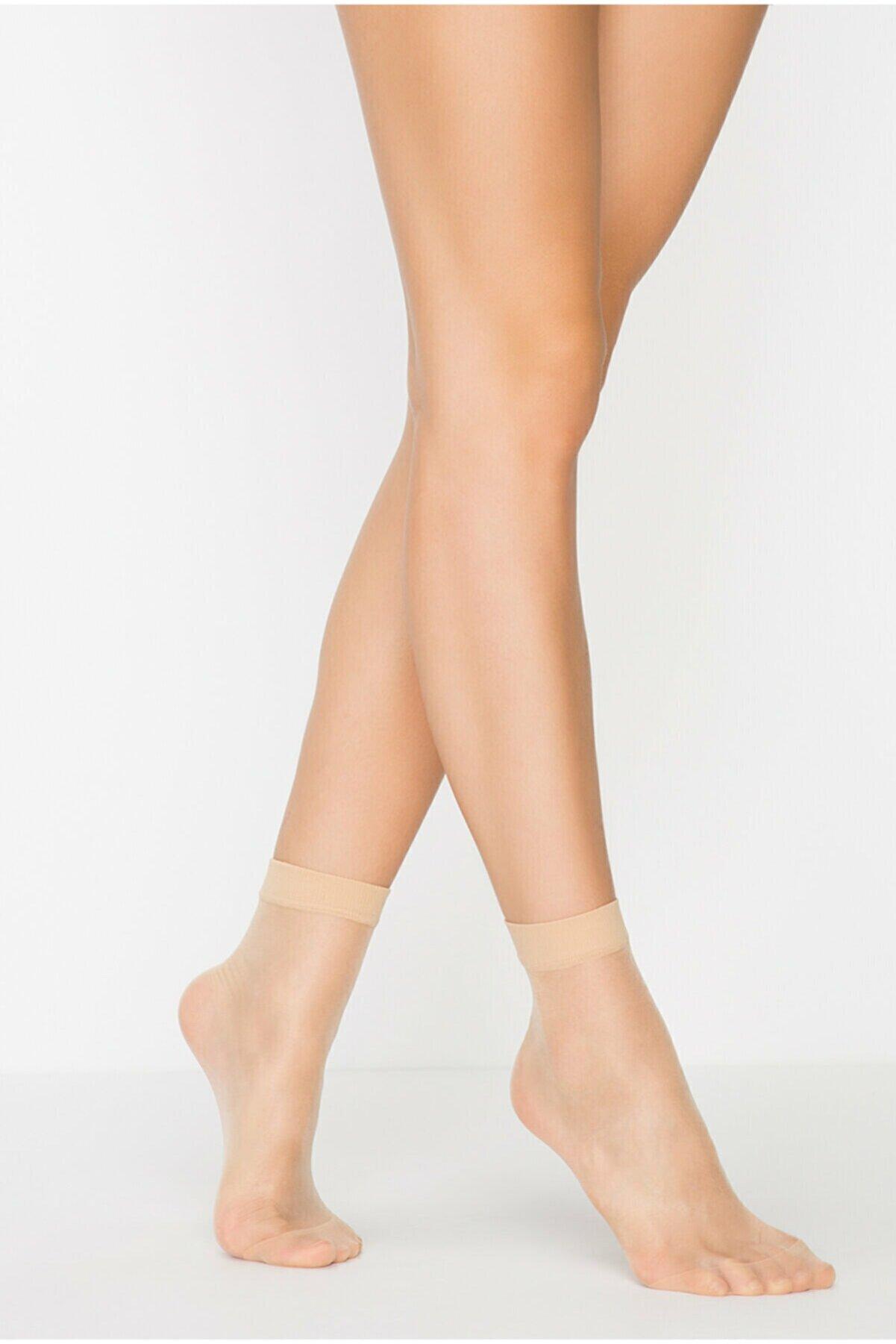 Penti Açık Ten Rengi Fit 15 3lü Soket Çorap