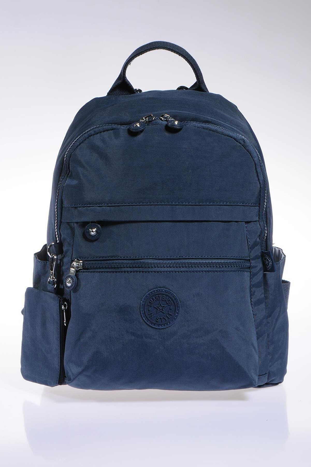 Smart Bags Smb1234-0033 Lacivert Kadın Sırt Çantası