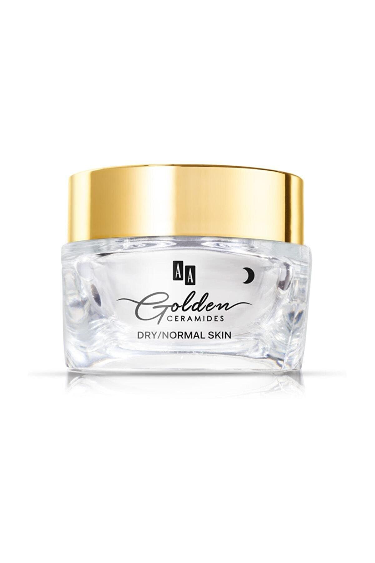AA Cosmetics Aa Golden Ceramides Yenileyici Krem Gece Kuru/normal Cilt 50ml